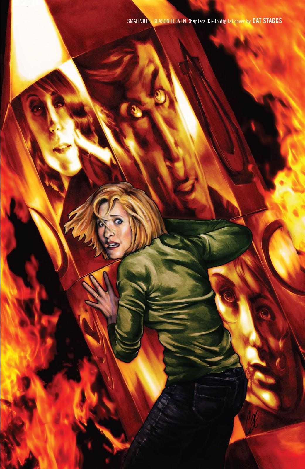Read online Smallville Season 11 [II] comic -  Issue # TPB 3 - 135