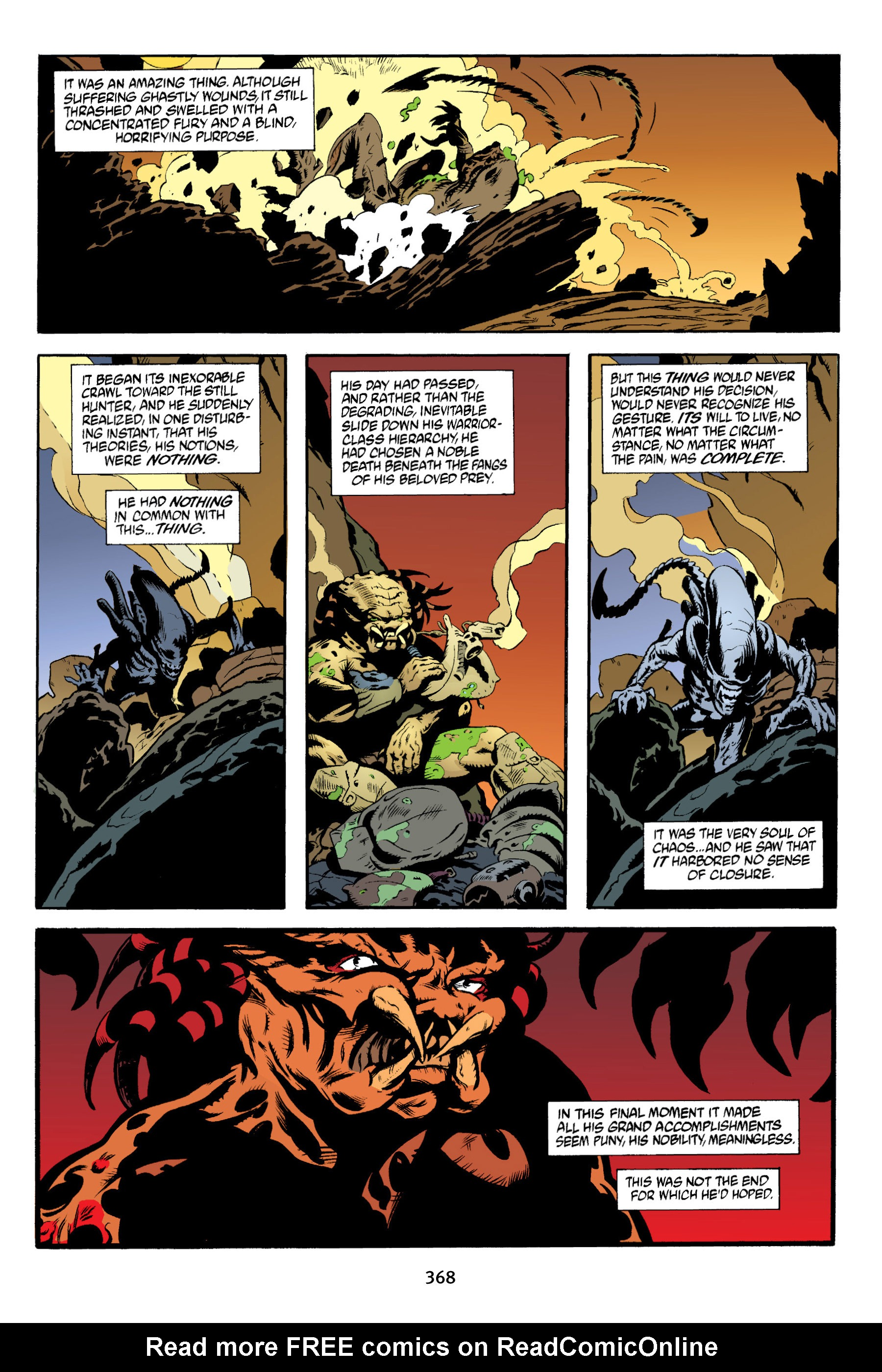 Read online Aliens vs. Predator Omnibus comic -  Issue # _TPB 2 Part 4 - 33