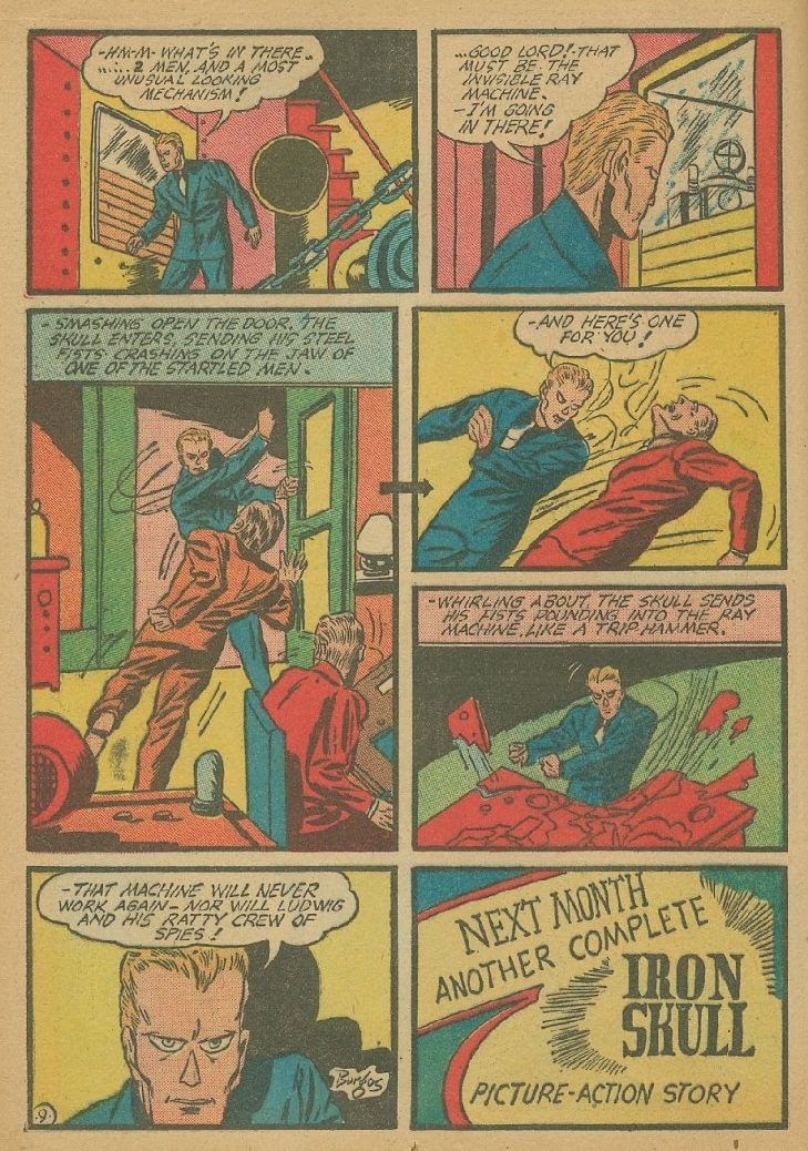 Read online Amazing Man Comics comic -  Issue #9 - 29