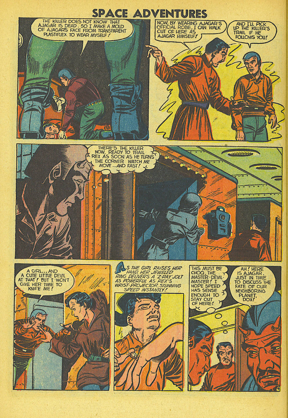 Space Adventures (1952) issue 5 - Page 21