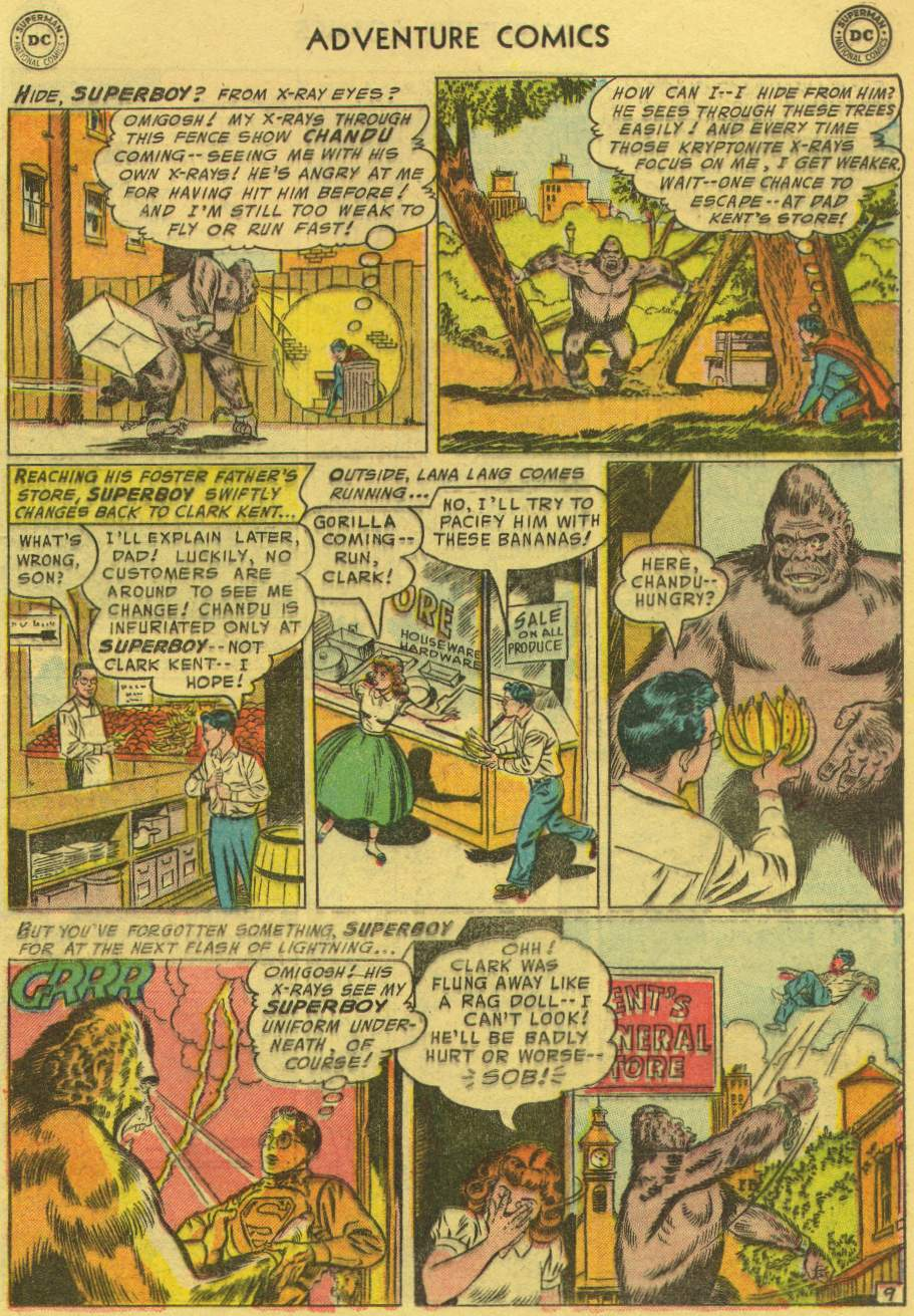 Read online Adventure Comics (1938) comic -  Issue #219 - 11