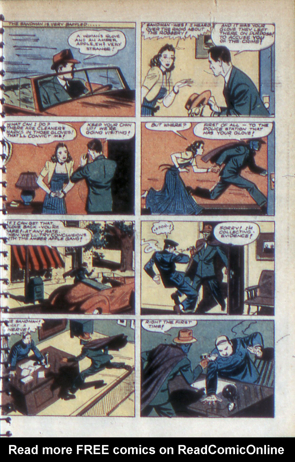 Read online Adventure Comics (1938) comic -  Issue #52 - 8