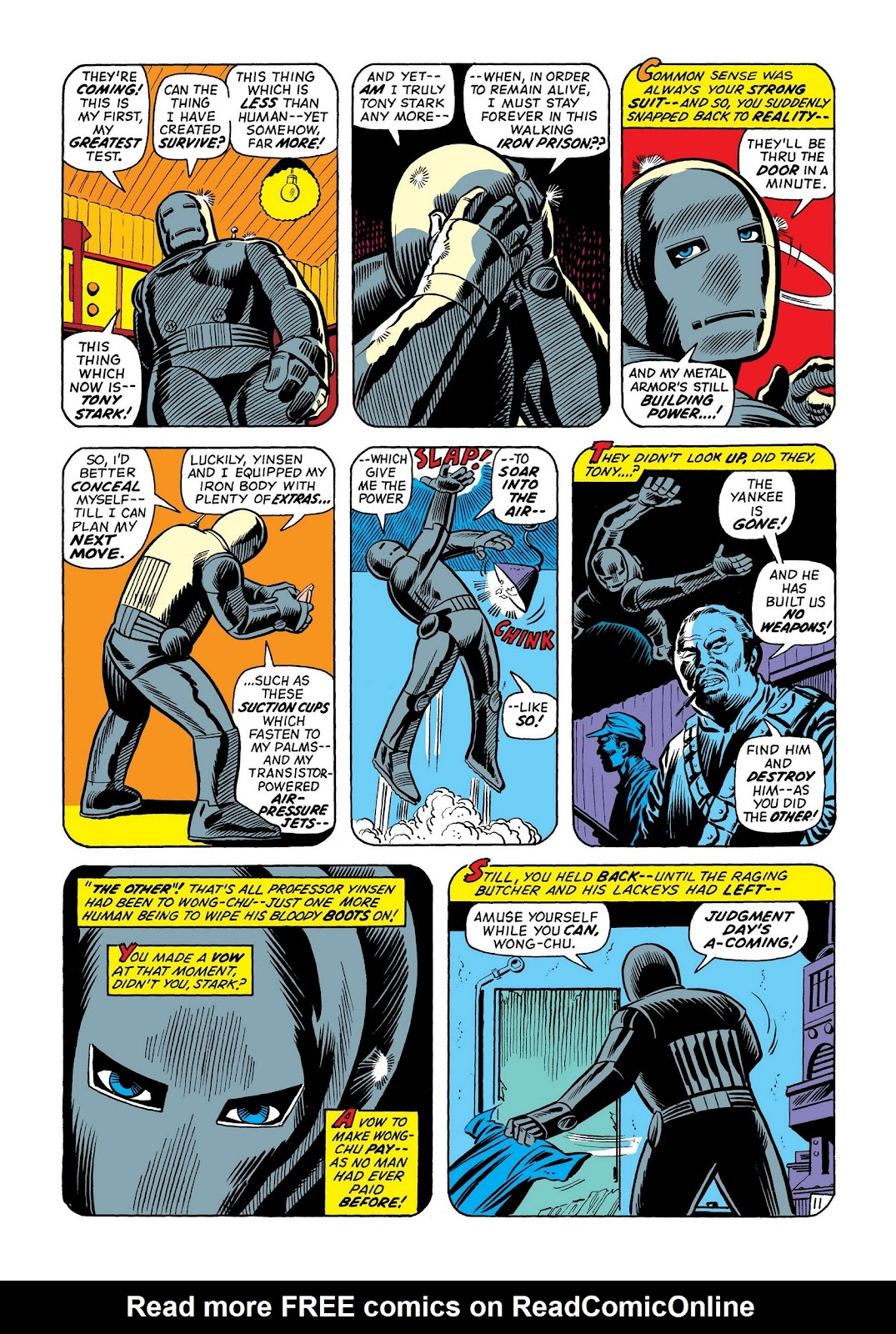 Read online Marvel Masterworks: The Invincible Iron Man comic -  Issue # TPB 8 (Part 2) - 77