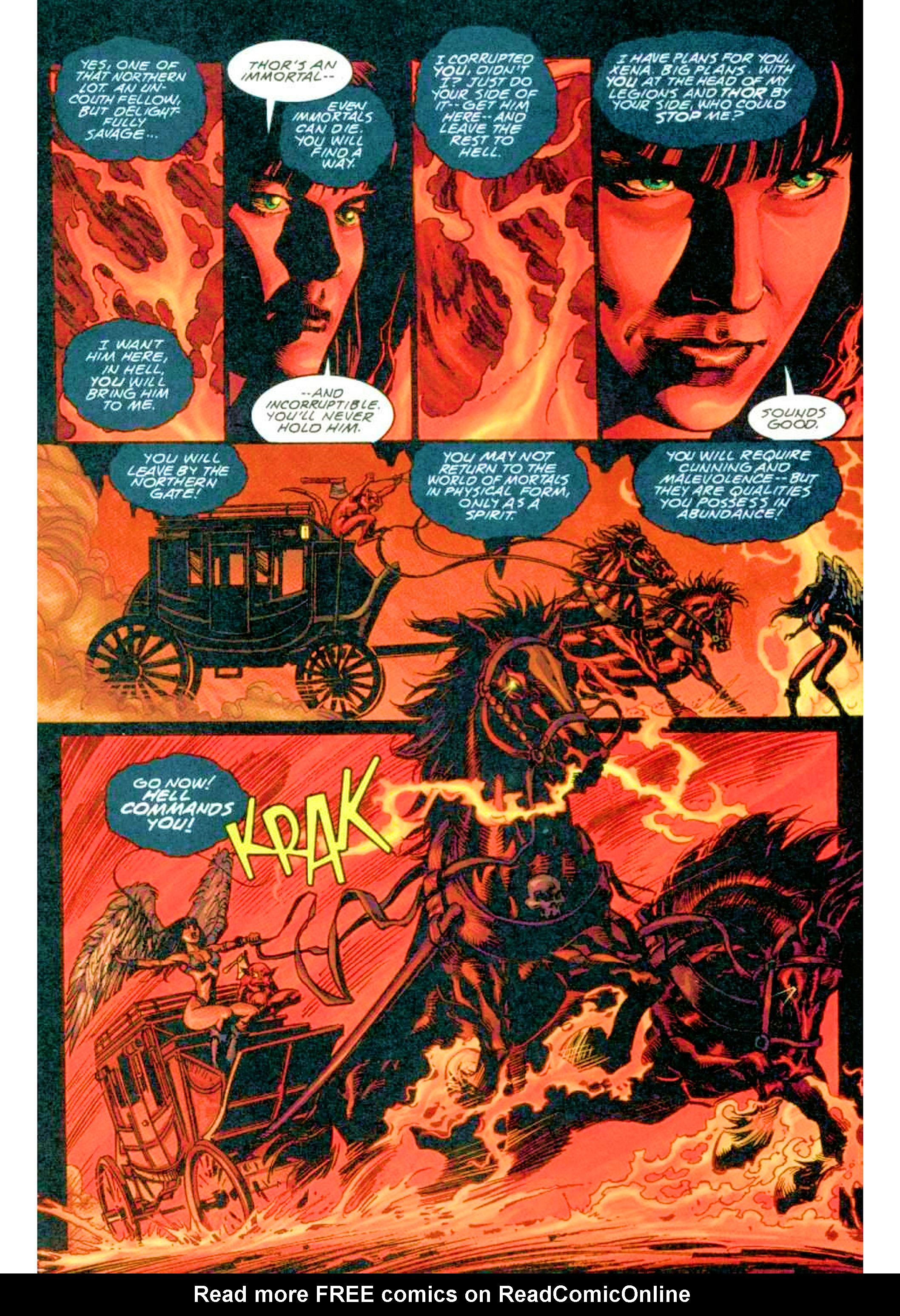 Read online Xena: Warrior Princess (1999) comic -  Issue #3 - 8