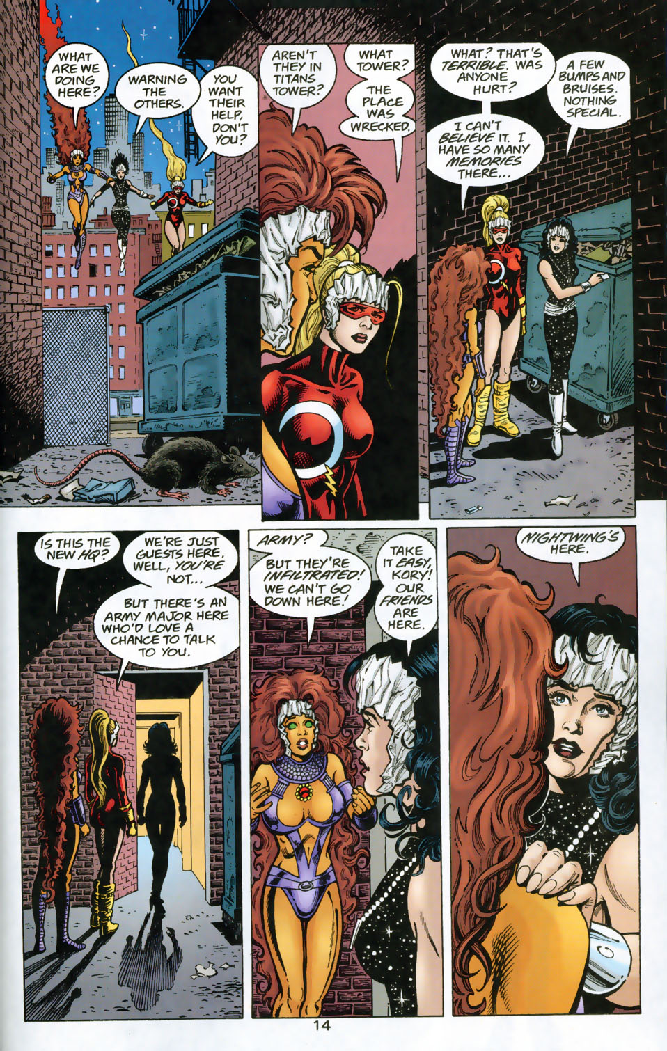 Read online The Titans (1999) comic -  Issue #49 - 15