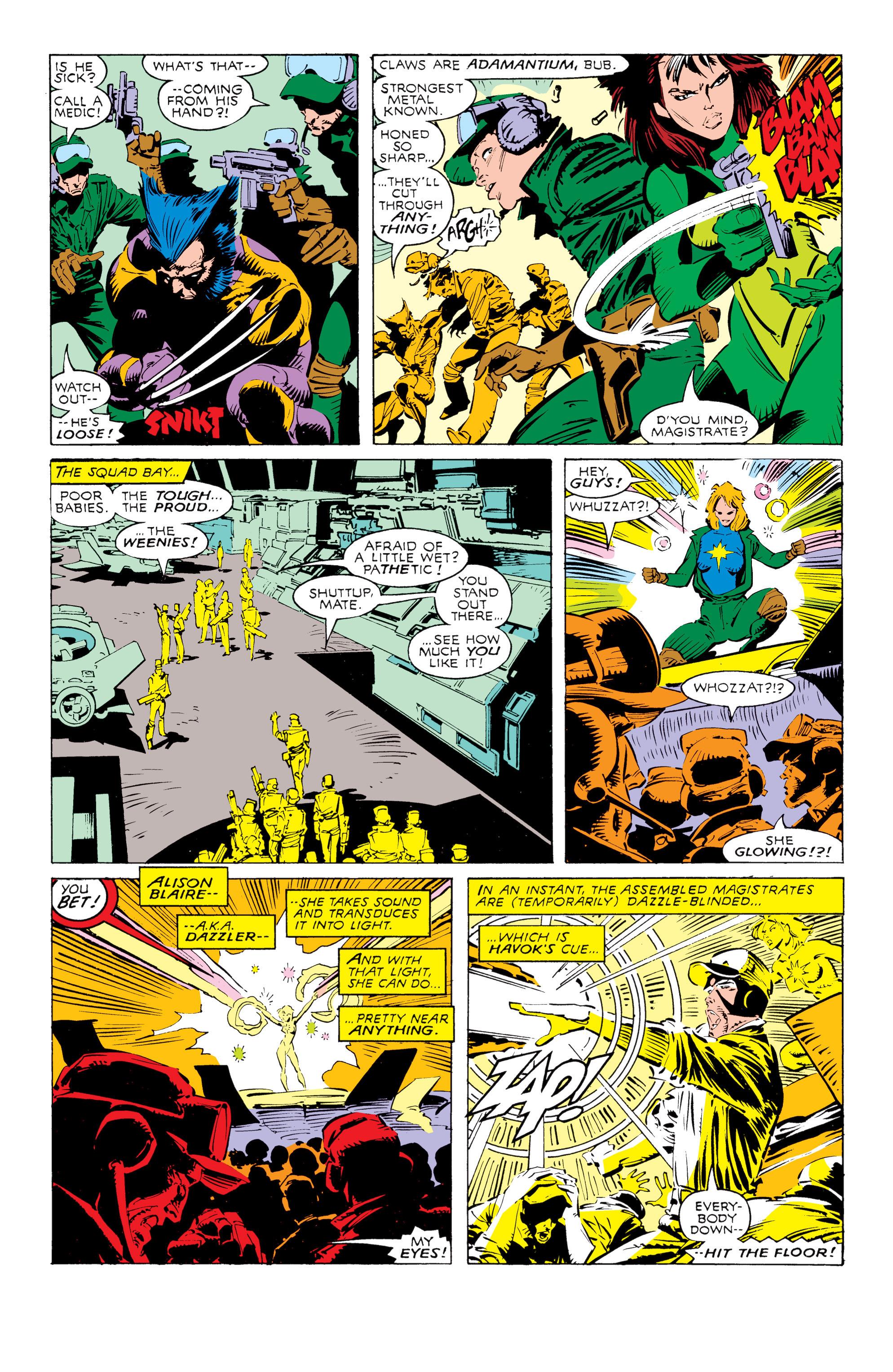 Read online Uncanny X-Men (1963) comic -  Issue #238 - 16