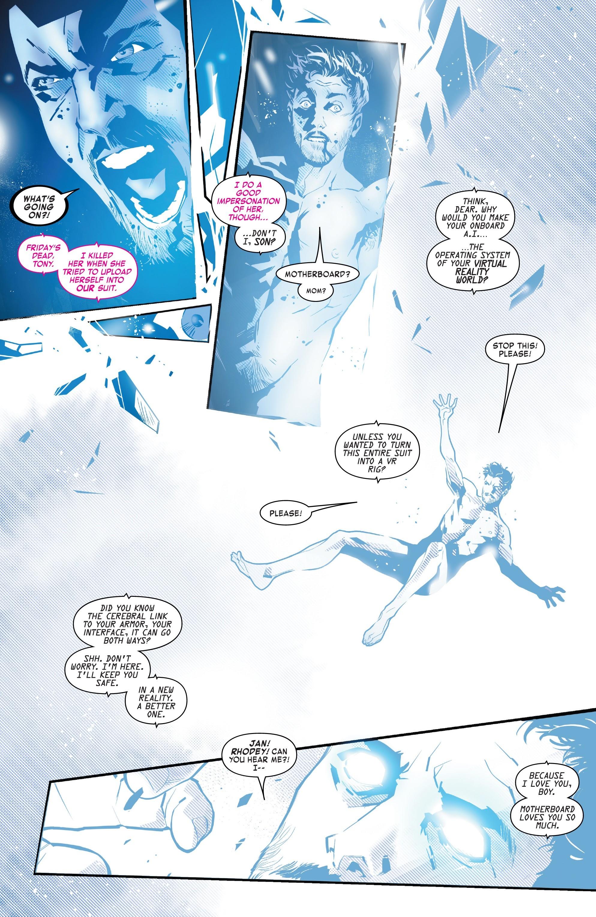 Read online Tony Stark: Iron Man comic -  Issue #8 - 16