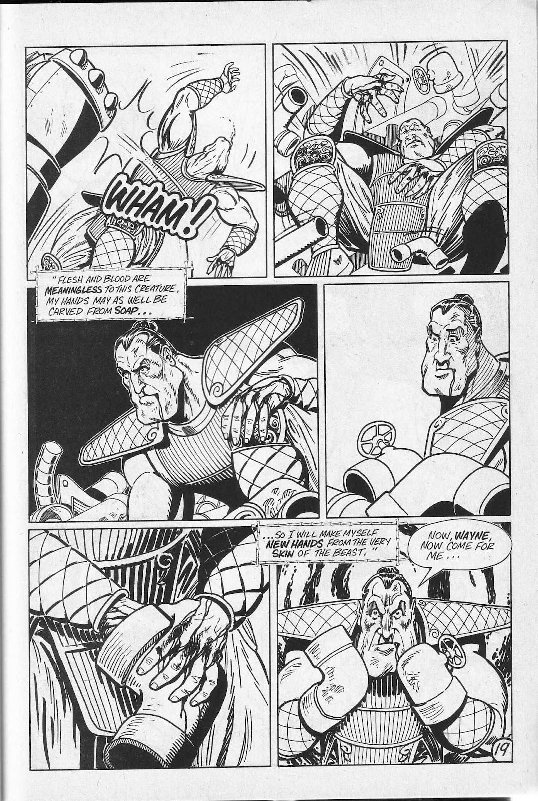 Read online Paul the Samurai (1991) comic -  Issue # TPB - 55