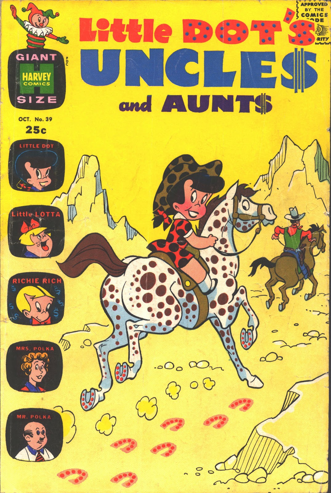 Little Dots Uncles and Aunts 39 Page 1