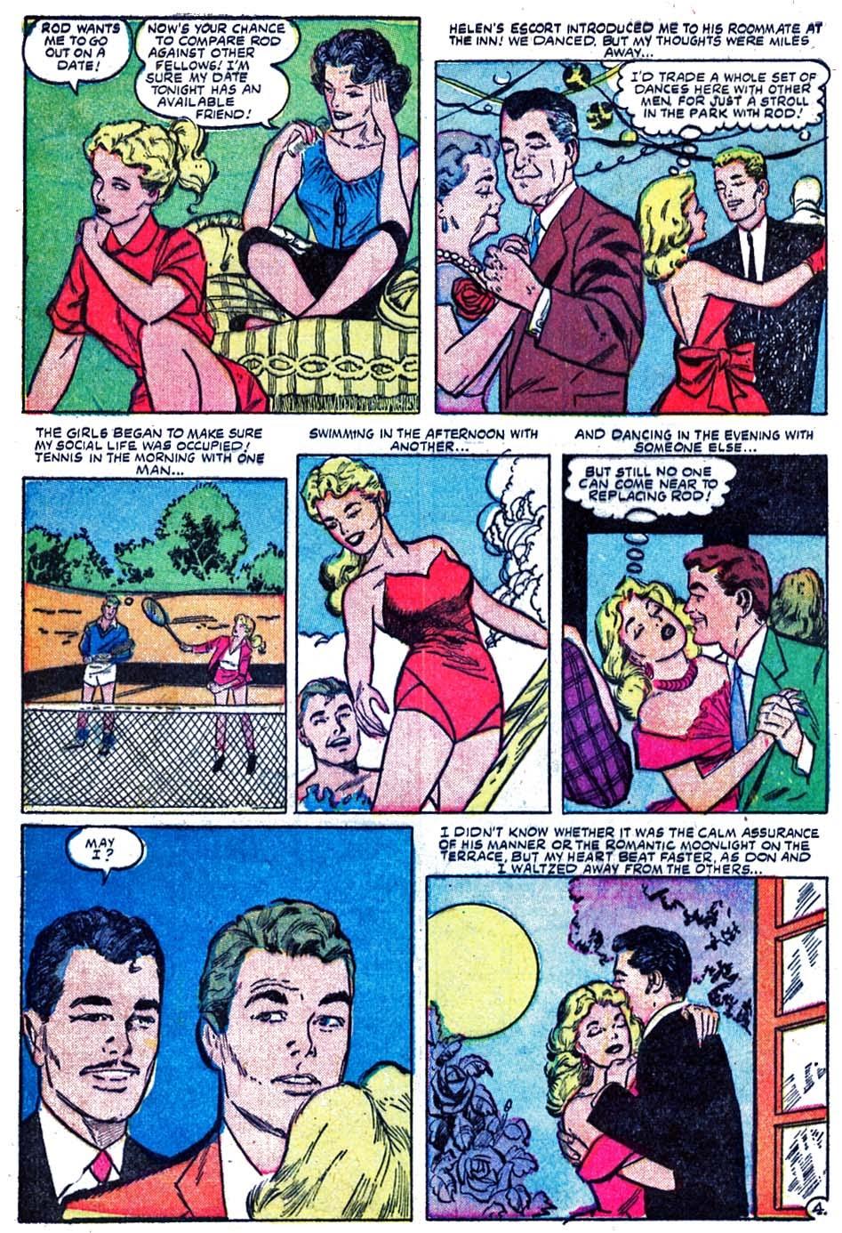 Love Romances (1949) issue 52 - Page 6