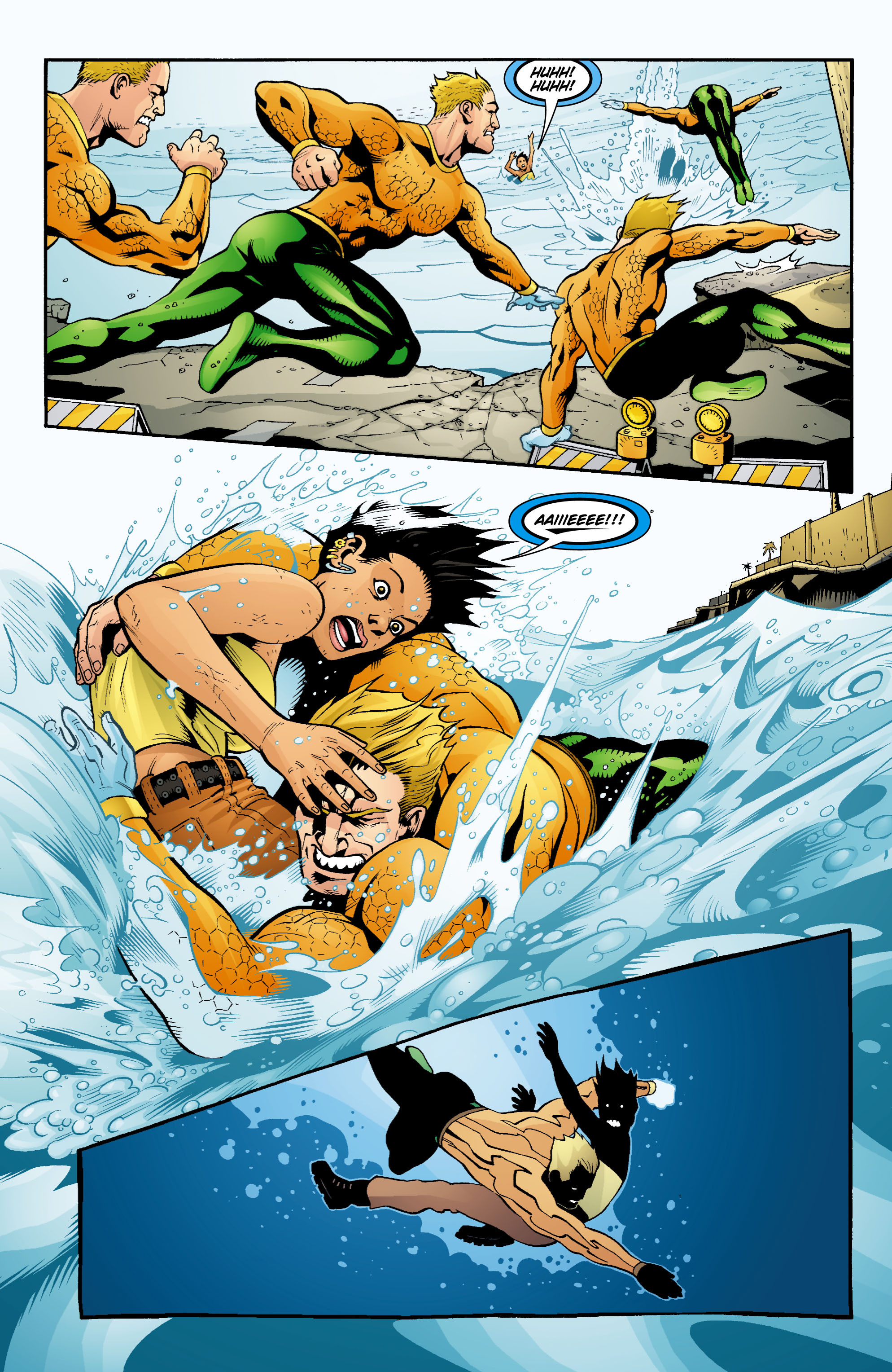 Read online Aquaman (2003) comic -  Issue #16 - 7