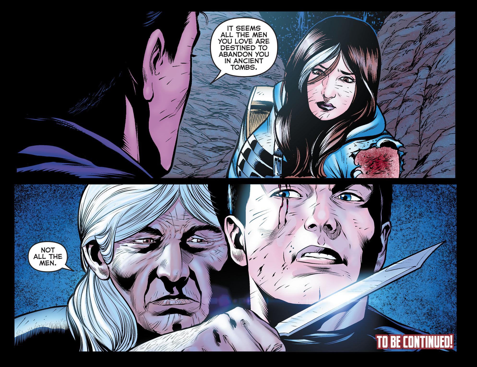 Read online Arrow: The Dark Archer comic -  Issue #10 - 22
