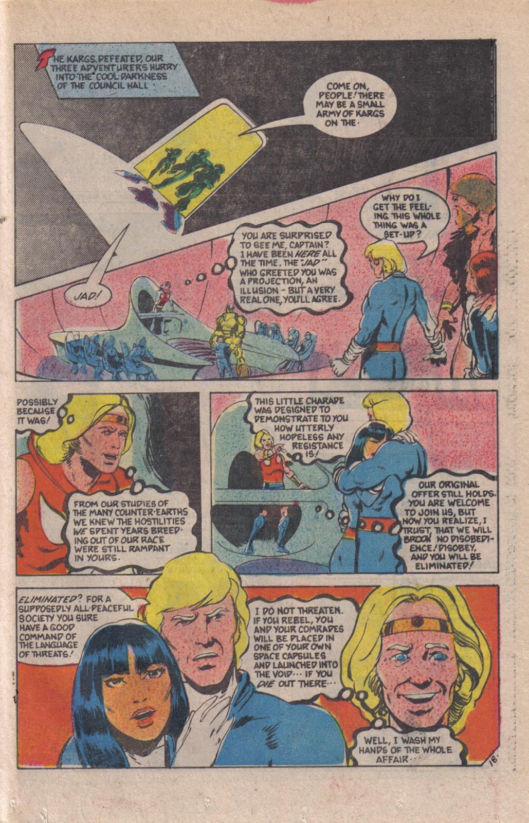 Read online Doomsday   1 (1975) comic -  Issue #12 - 24