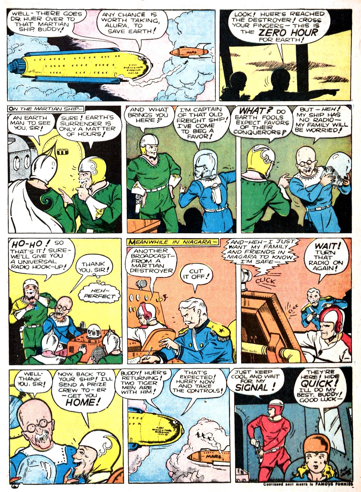 Read online Famous Funnies comic -  Issue #87 - 9