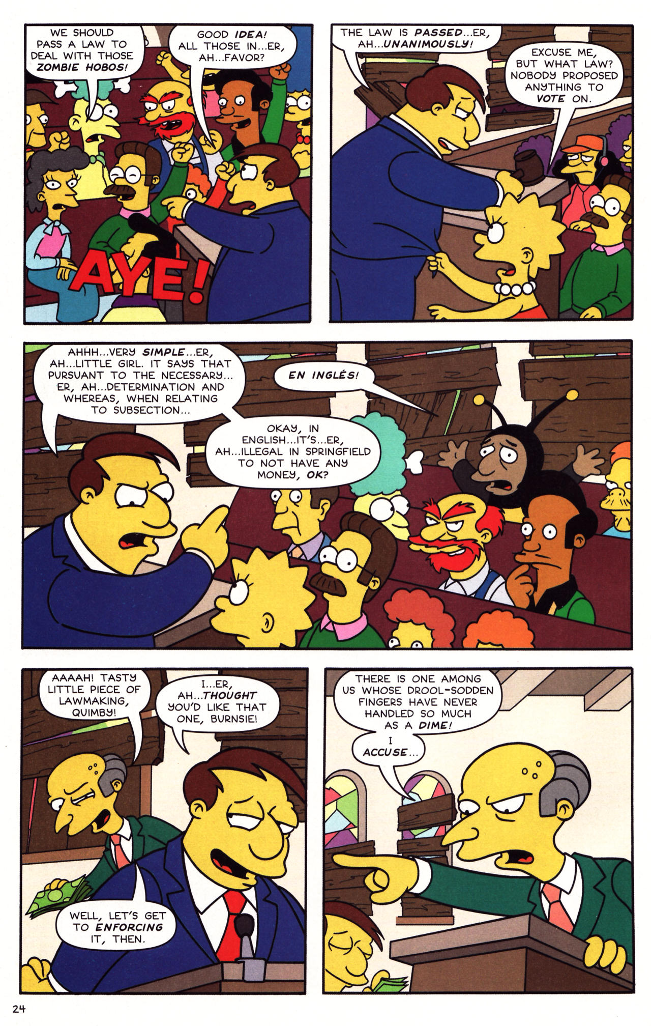 Read online Simpsons Comics Presents Bart Simpson comic -  Issue #39 - 20
