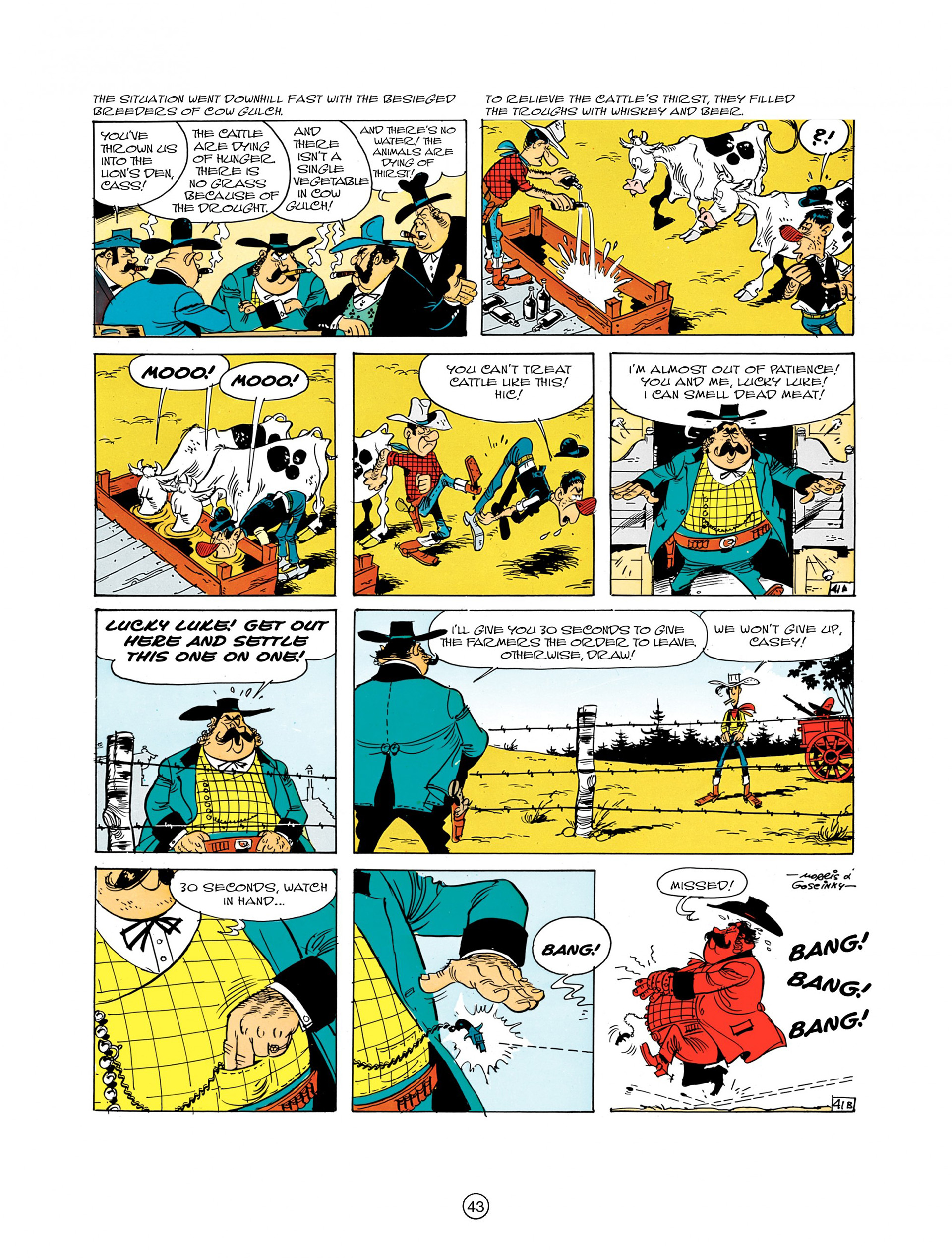 Read online A Lucky Luke Adventure comic -  Issue #7 - 43