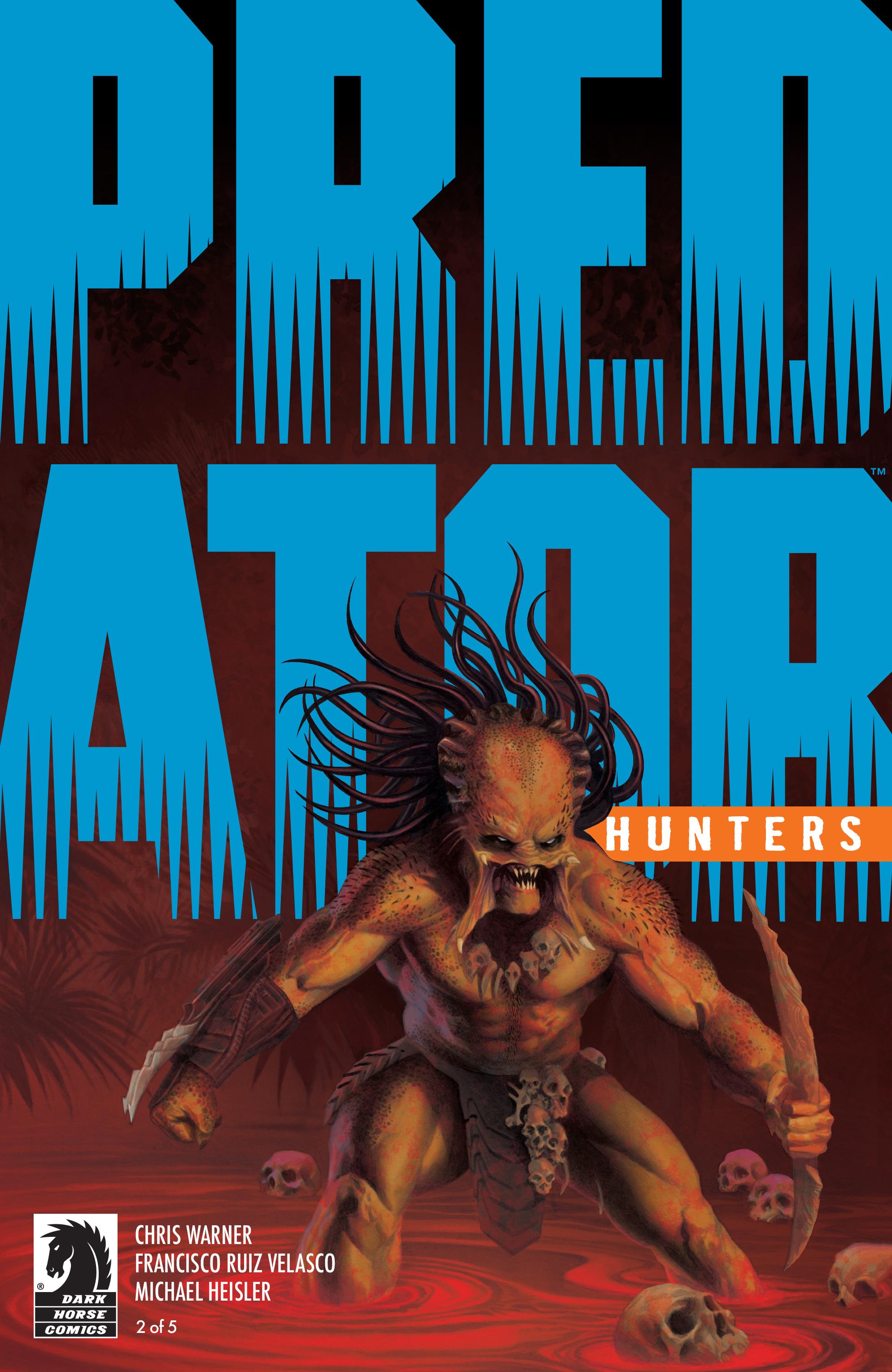 Read online Predator: Hunters comic -  Issue #2 - 1
