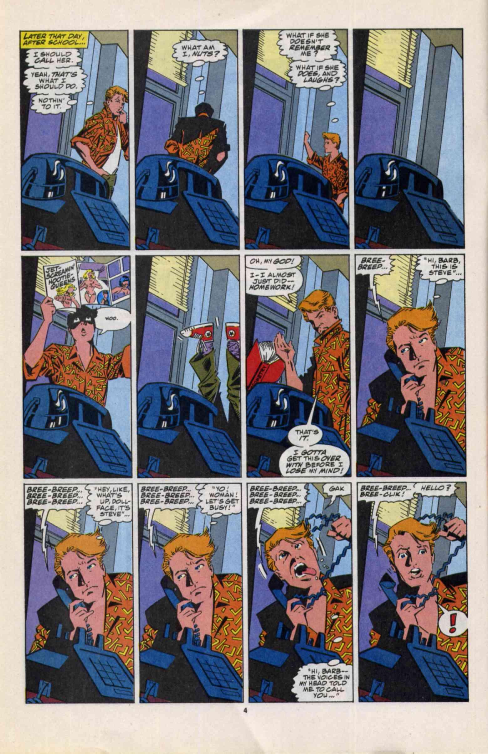 Read online Slapstick comic -  Issue #3 - 5