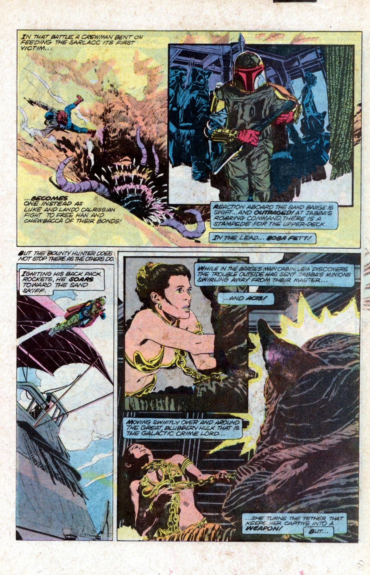 Read online Star Wars: Return of the Jedi comic -  Issue #2 - 7