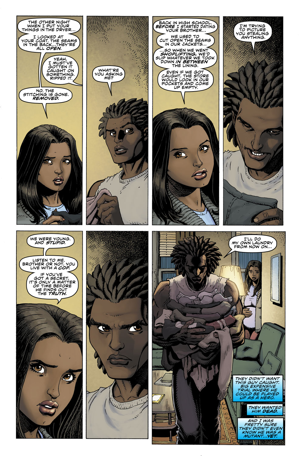 Read online Ultimate X comic -  Issue #3 - 17
