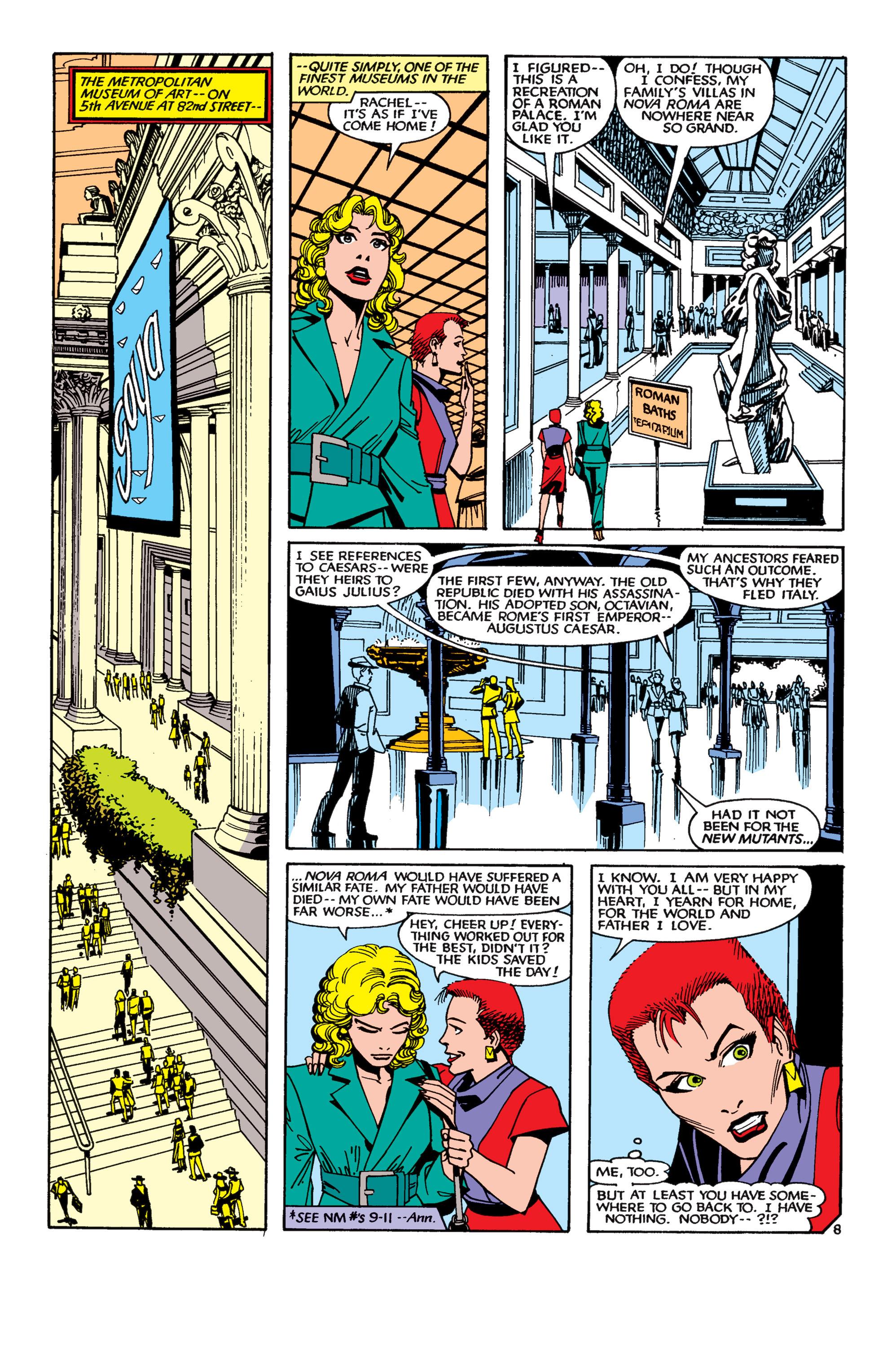 Read online Uncanny X-Men (1963) comic -  Issue #189 - 8