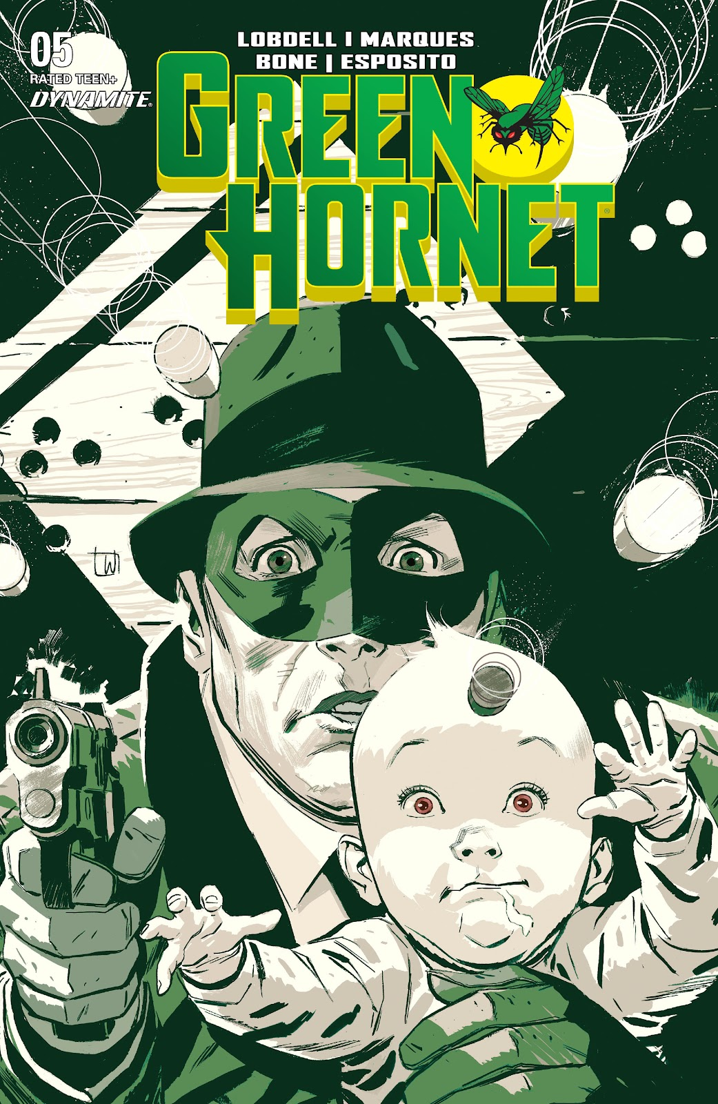 The Green Hornet (2020) issue 5 - Page 1