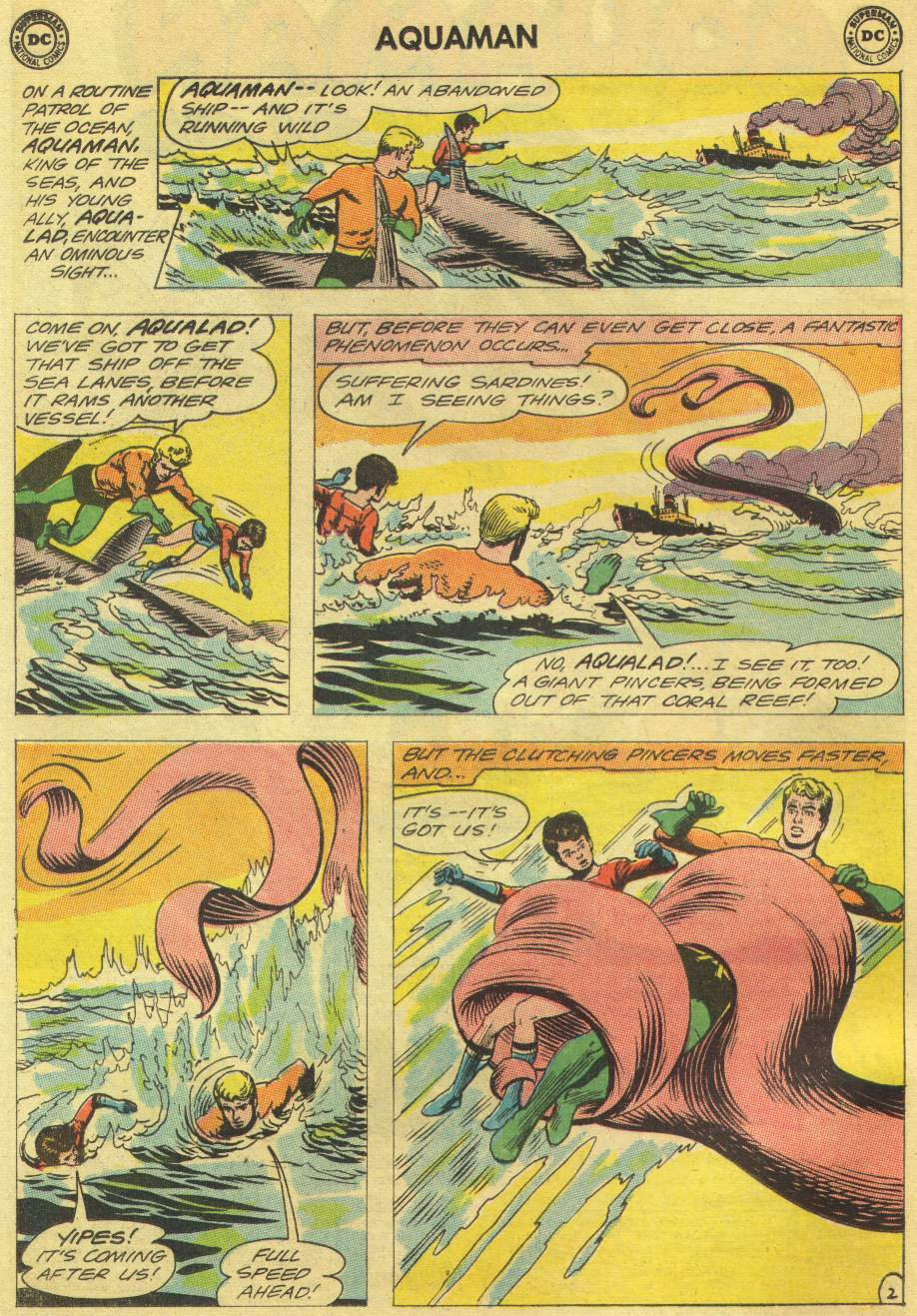 Read online Aquaman (1962) comic -  Issue #11 - 4
