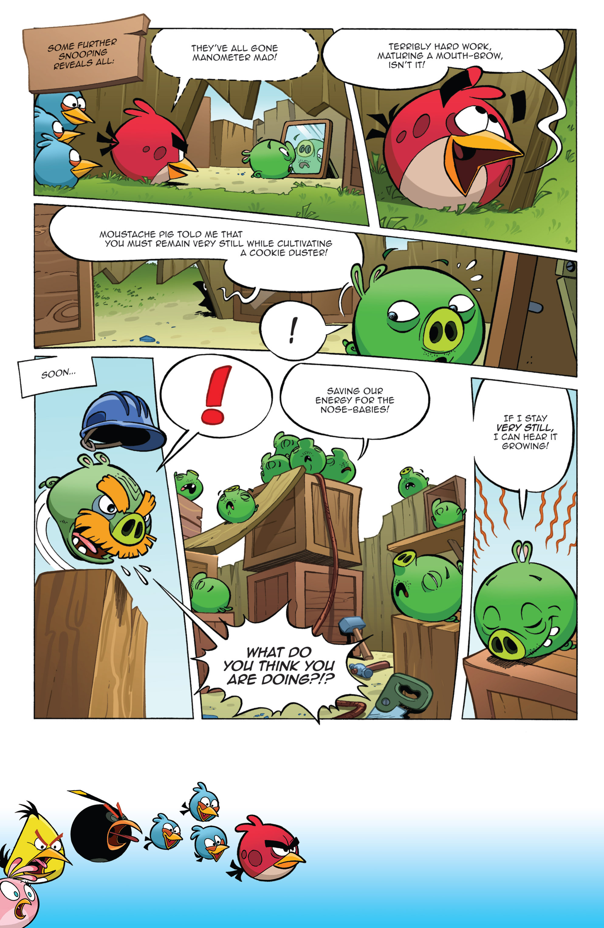 Read online Angry Birds Comics (2014) comic -  Issue #11 - 6