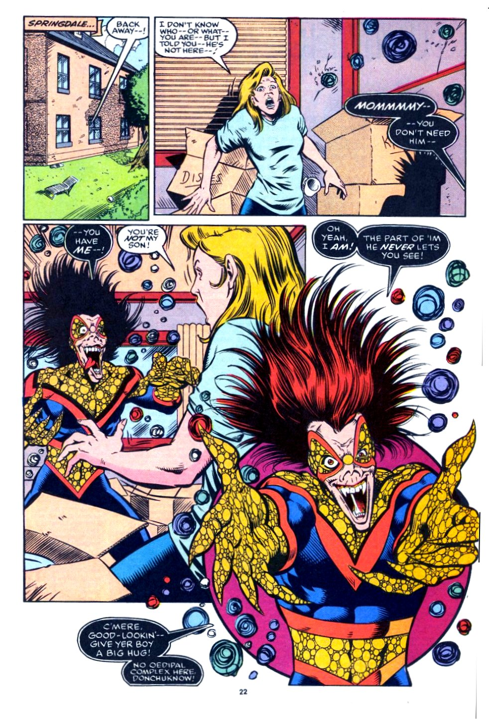 The New Warriors Issue #27 #31 - English 17