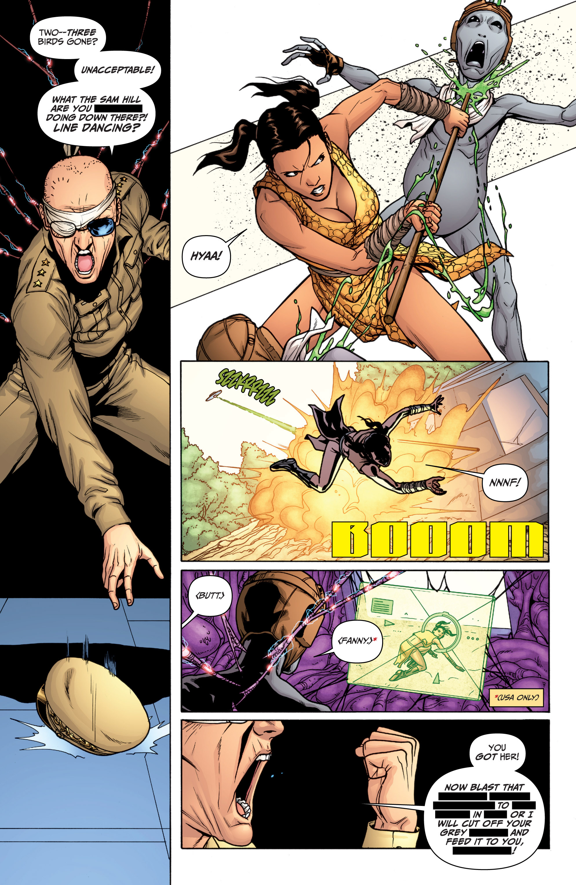 Read online Archer and Armstrong comic -  Issue #12 - 17