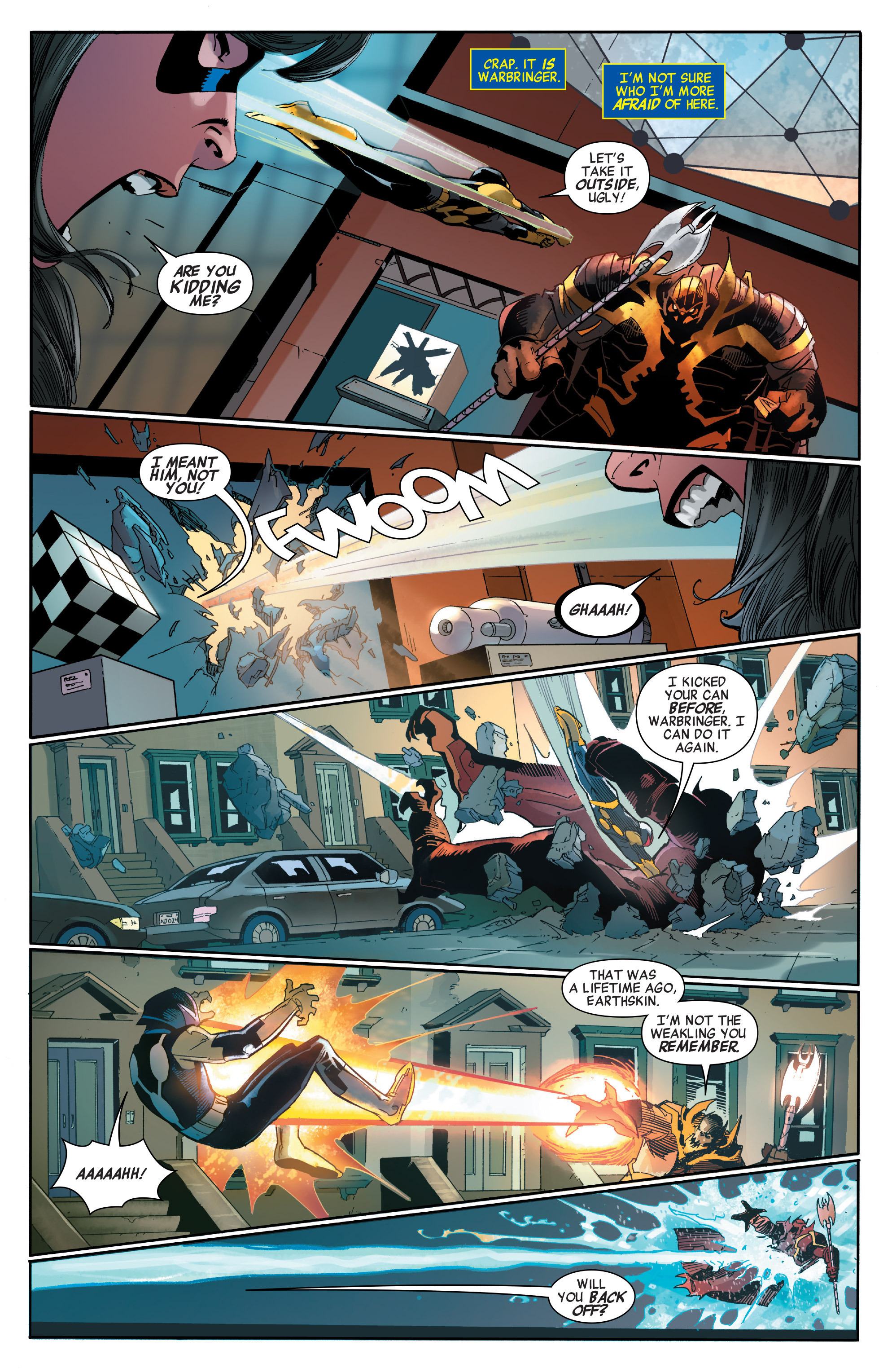 Read online All-New, All-Different Avengers comic -  Issue #2 - 10