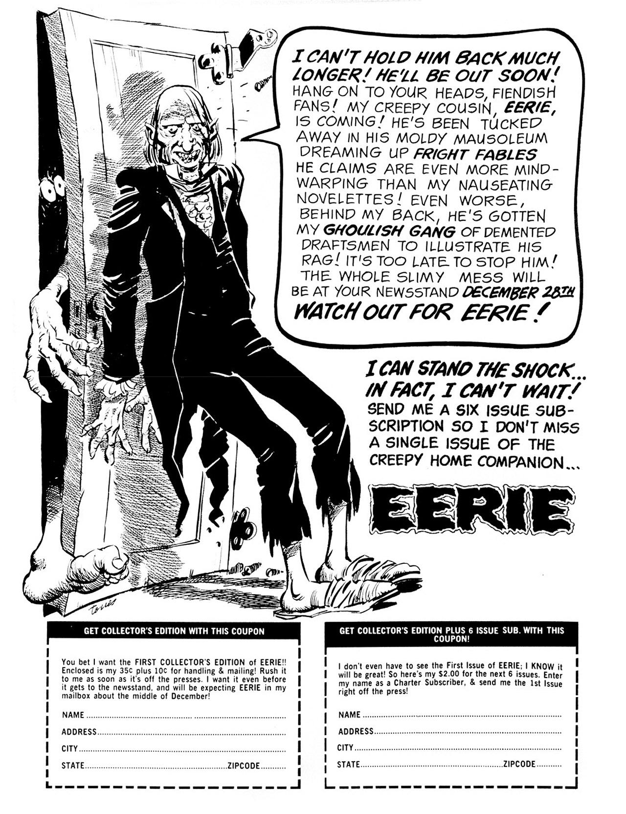 Read online Eerie Archives comic -  Issue # TPB 1 - 7