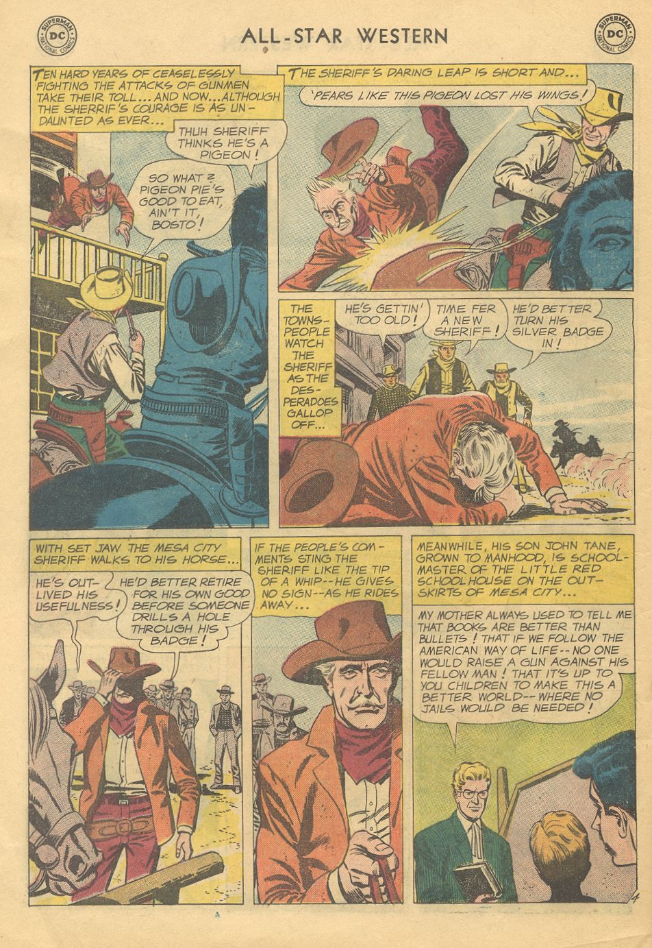 Read online All-Star Western (1951) comic -  Issue #108 - 6