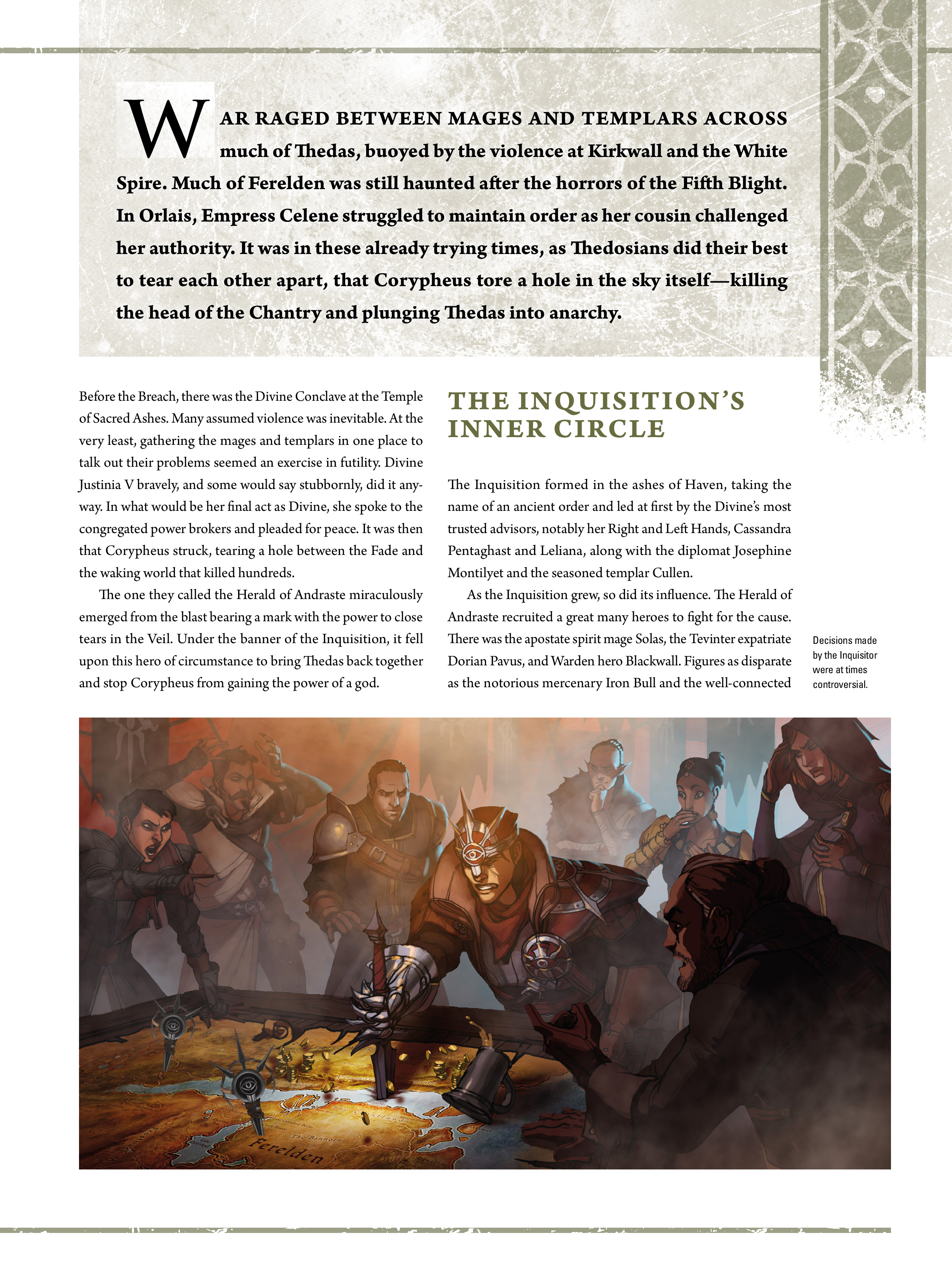 Read online Dragon Age: The World of Thedas comic -  Issue # TPB 2 - 214