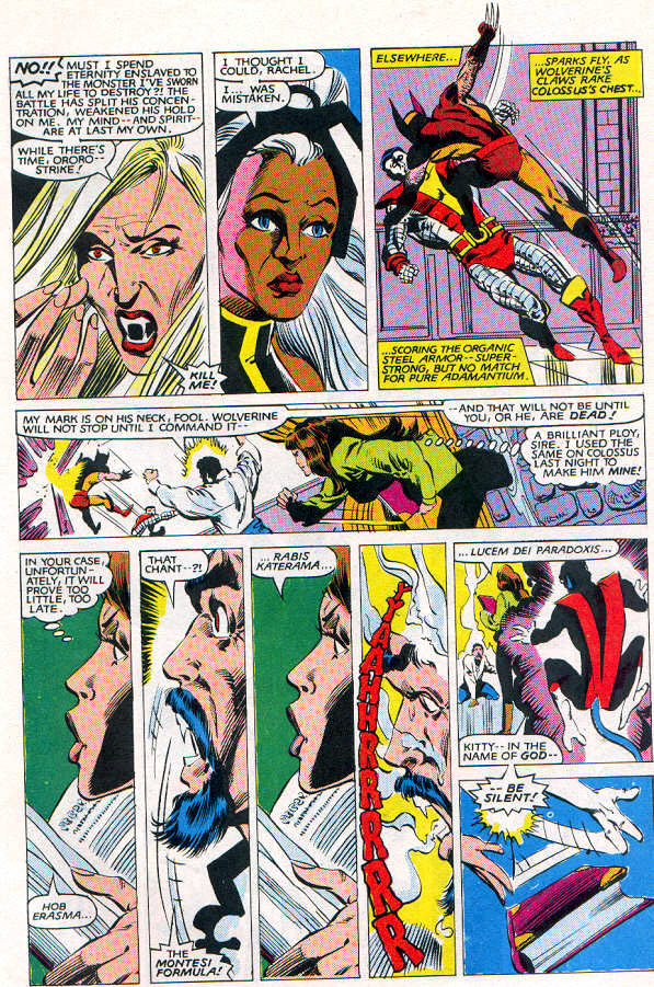 Read online Uncanny X-Men (1963) comic -  Issue # _Annual 6 - 34