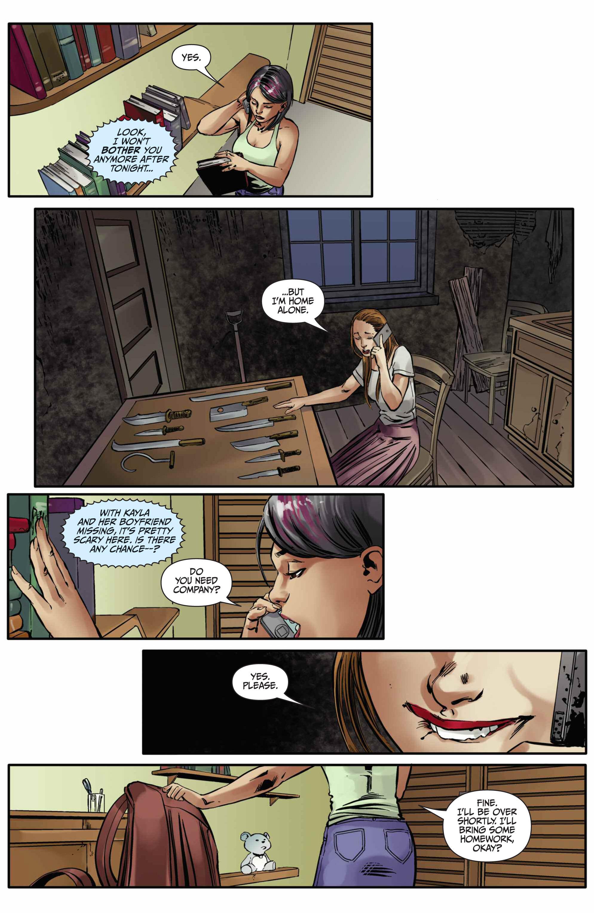 Read online Mercy Thompson comic -  Issue #5 - 16