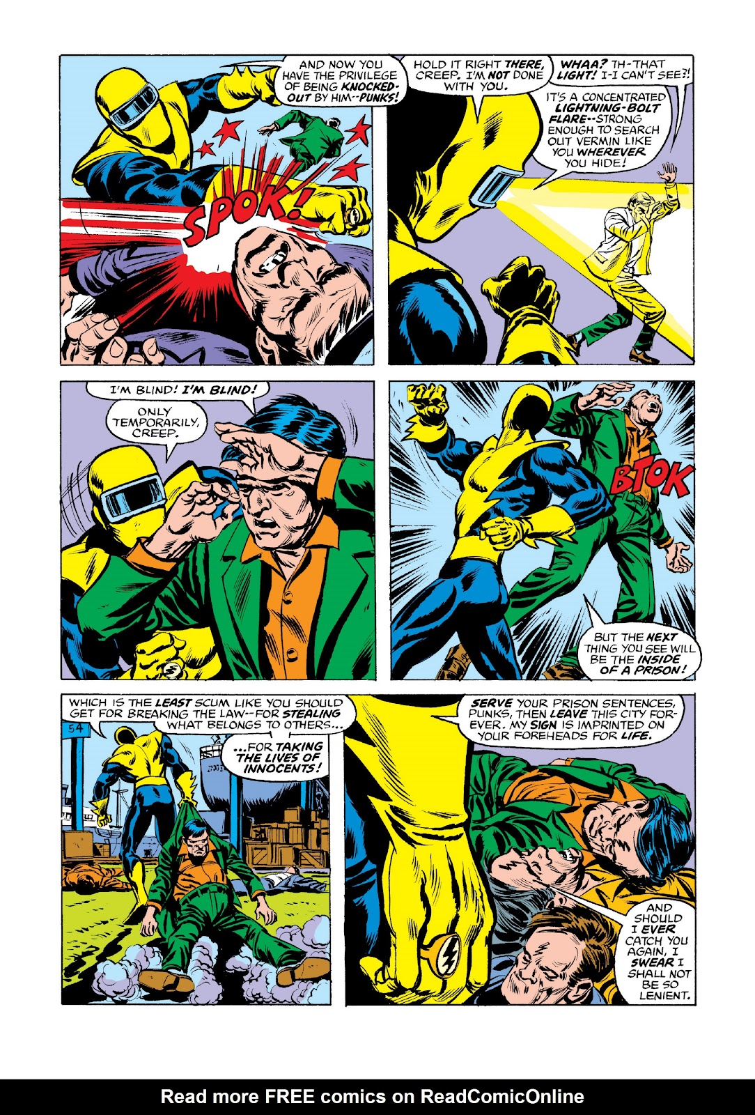 Read online Marvel Masterworks: Luke Cage, Power Man comic -  Issue # TPB 3 (Part 2) - 95