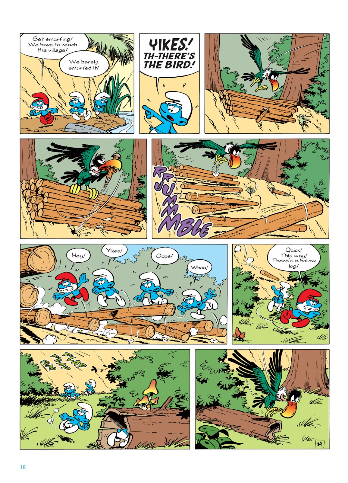Read online The Smurfs comic -  Issue #6 - 18