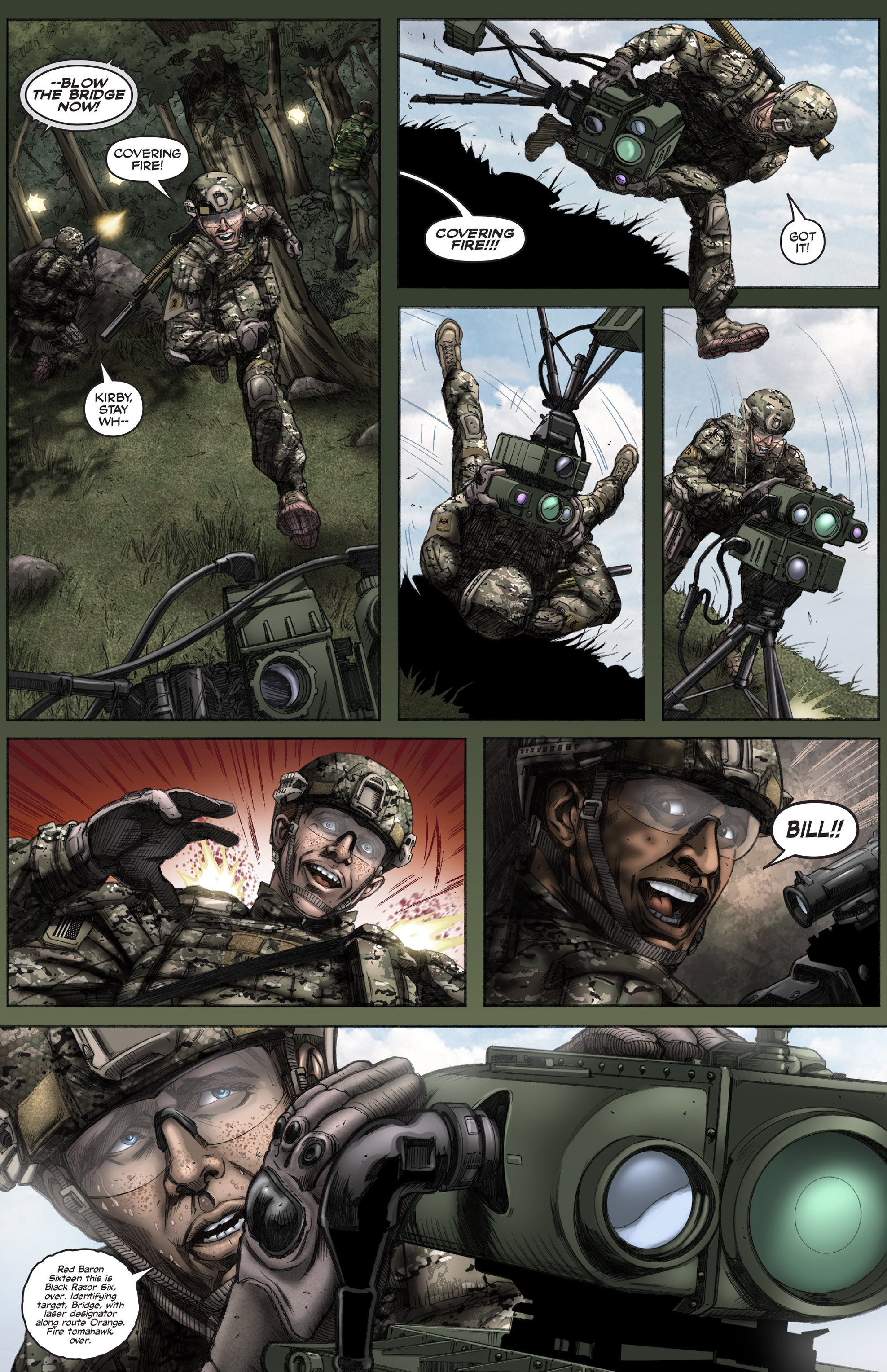 Read online America's Army comic -  Issue #12 - 21