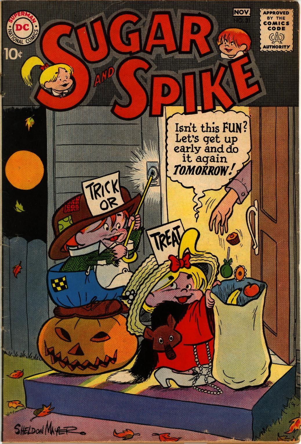 Sugar and Spike 31 Page 1