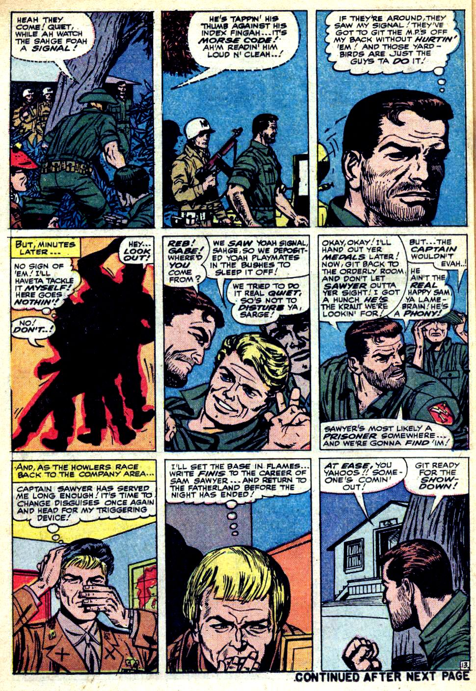 Read online Sgt. Fury comic -  Issue #25 - 18