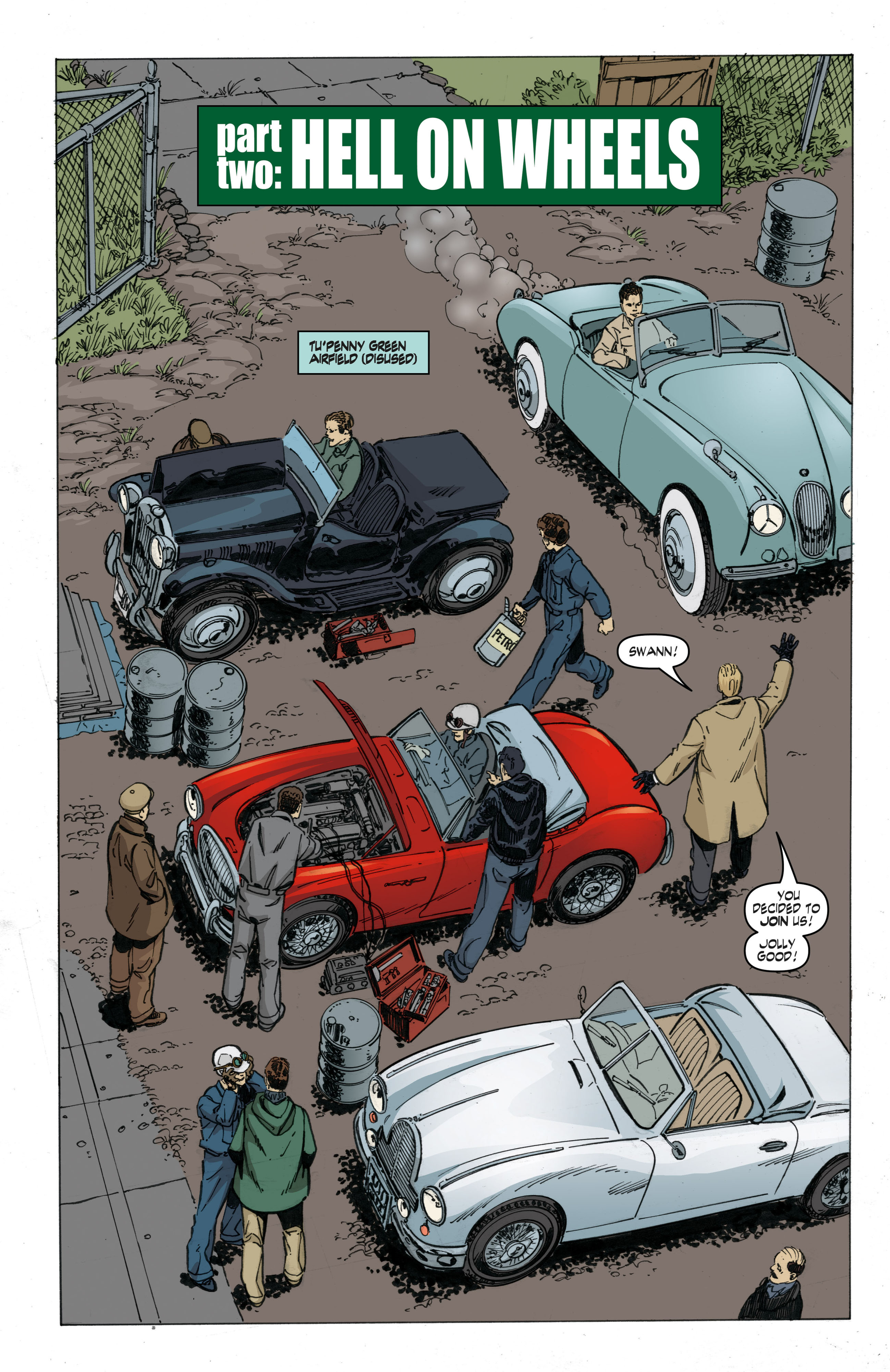 Read online Cold War comic -  Issue # TPB - 45