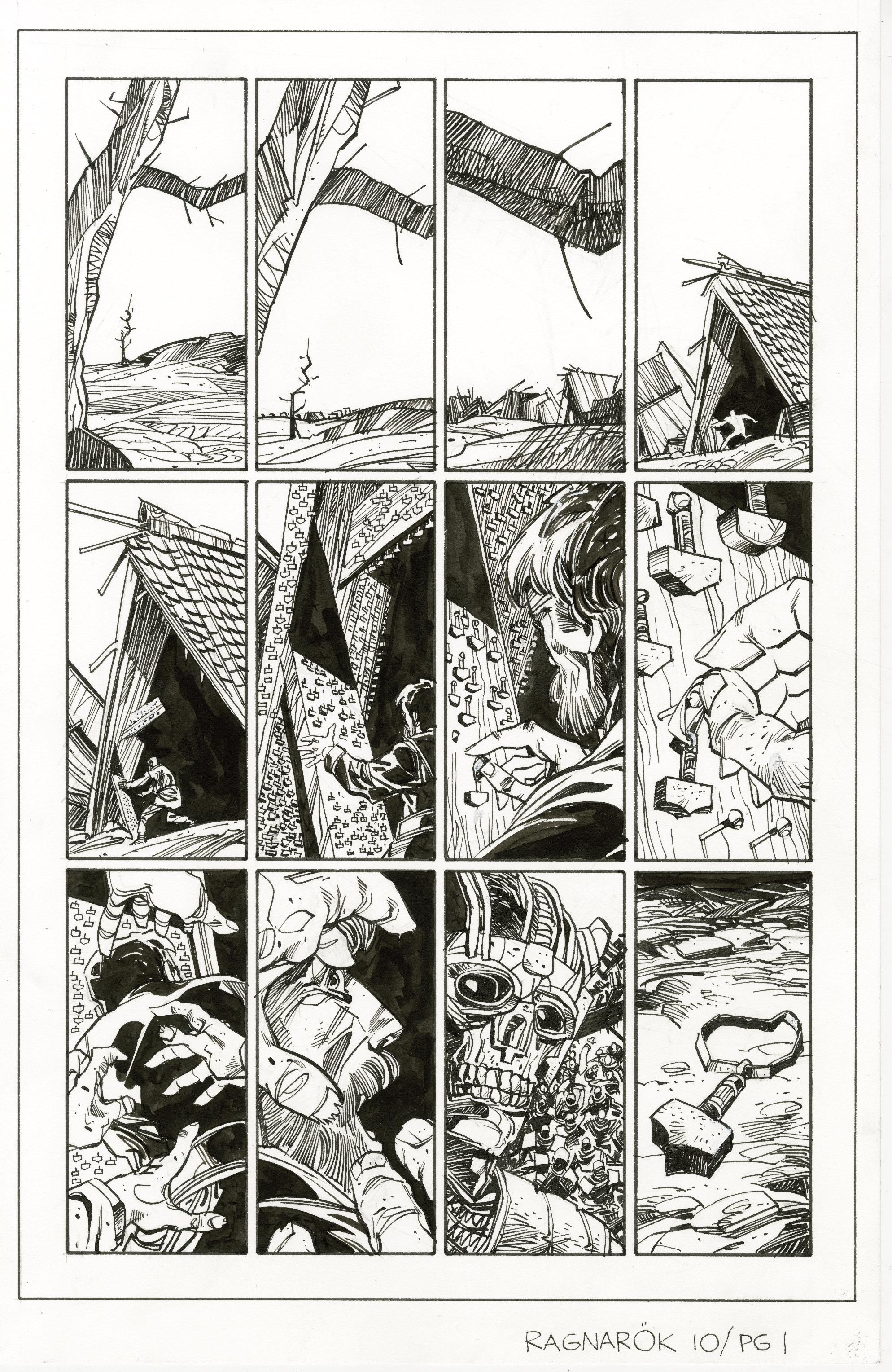 Read online Ragnarok comic -  Issue #10 - 25