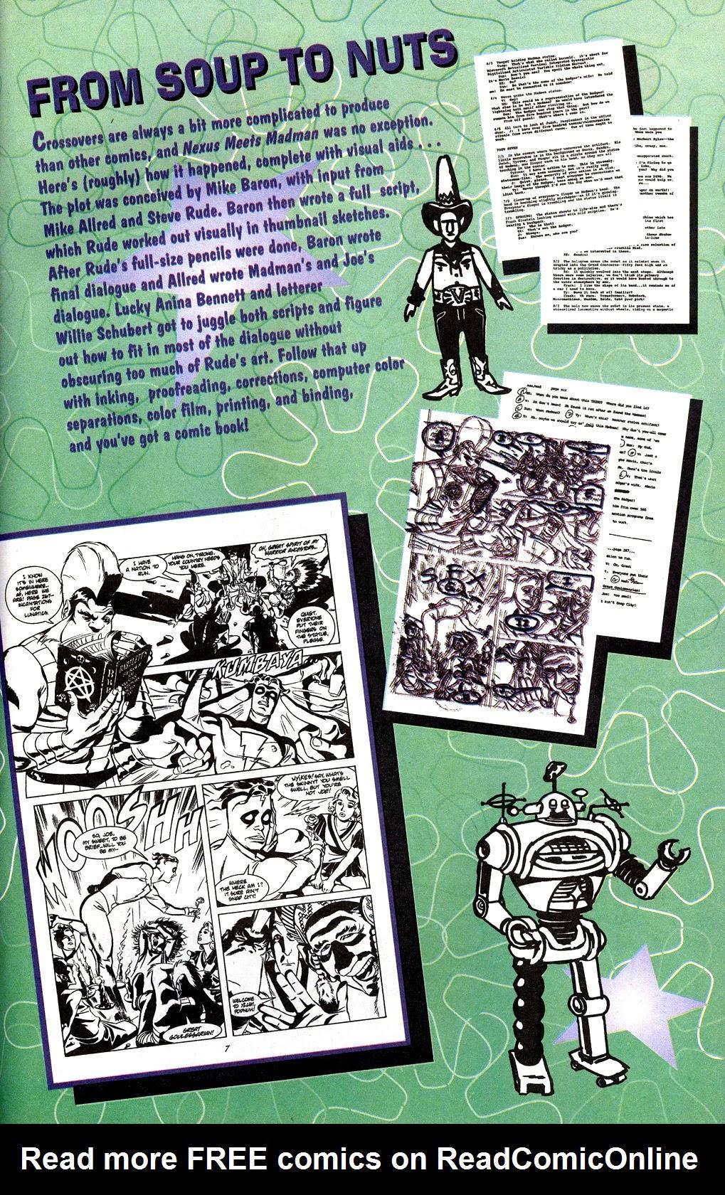 Read online Nexus Meets Madman comic -  Issue # Full - 29