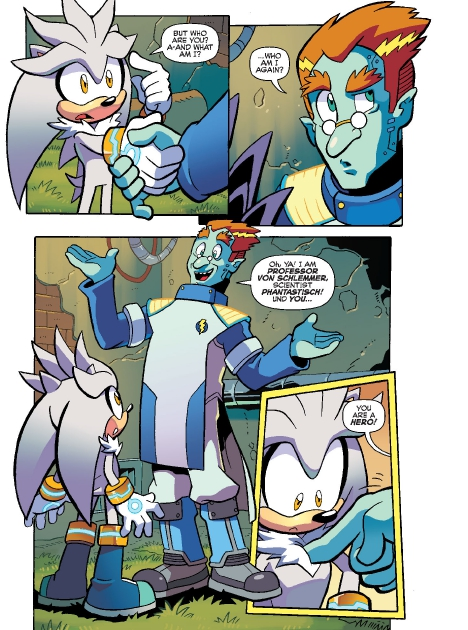 Read online Sonic Comics Spectacular: Speed of Sound comic -  Issue # Full - 110