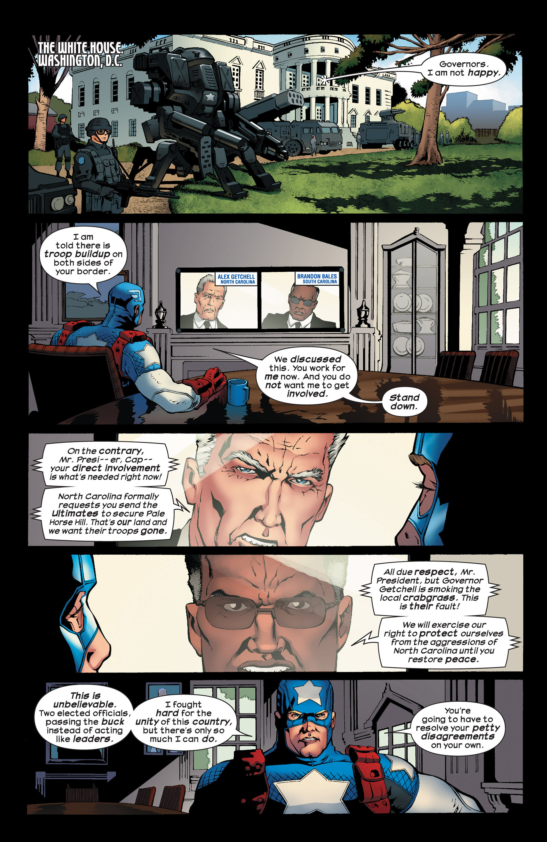 Read online Ultimate Comics Ultimates comic -  Issue #23 - 5