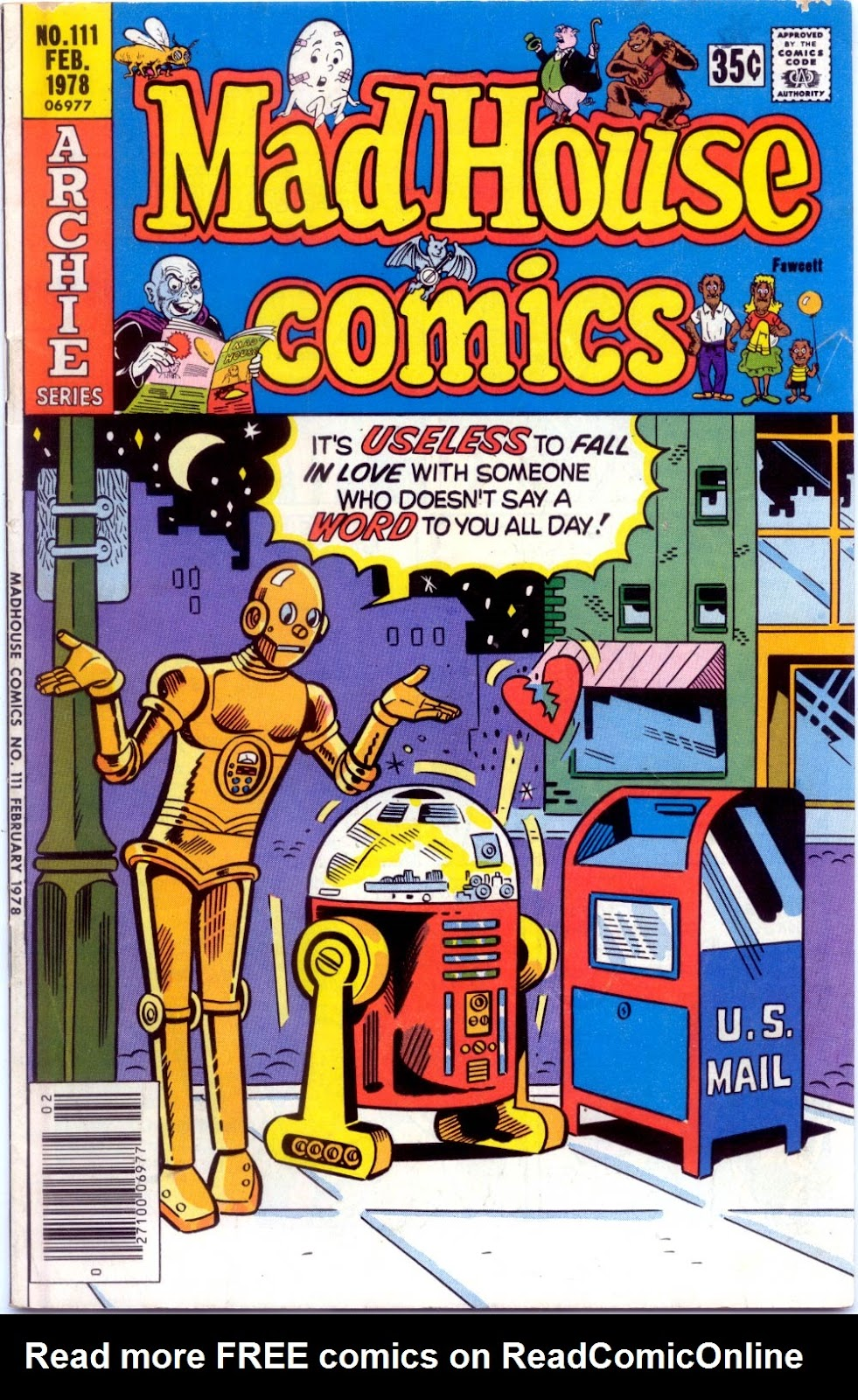 Read online Madhouse Comics comic -  Issue #111 - 1