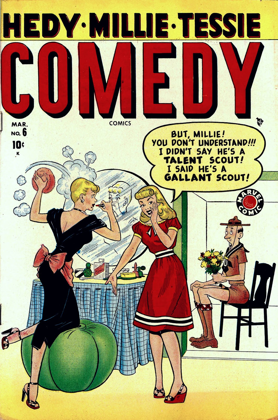 Read online Comedy Comics (1948) comic -  Issue #6 - 1