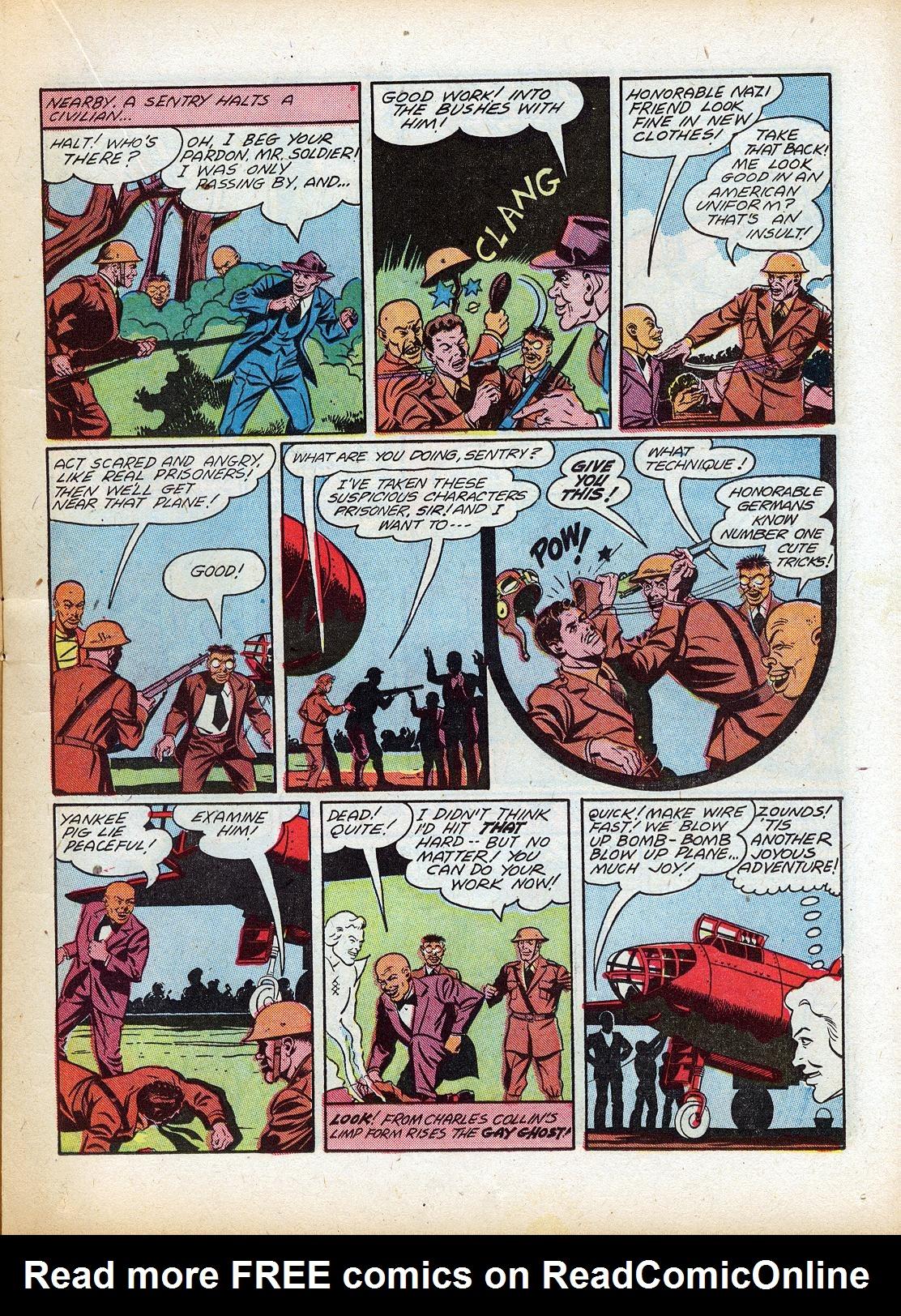 Read online Sensation (Mystery) Comics comic -  Issue #18 - 27
