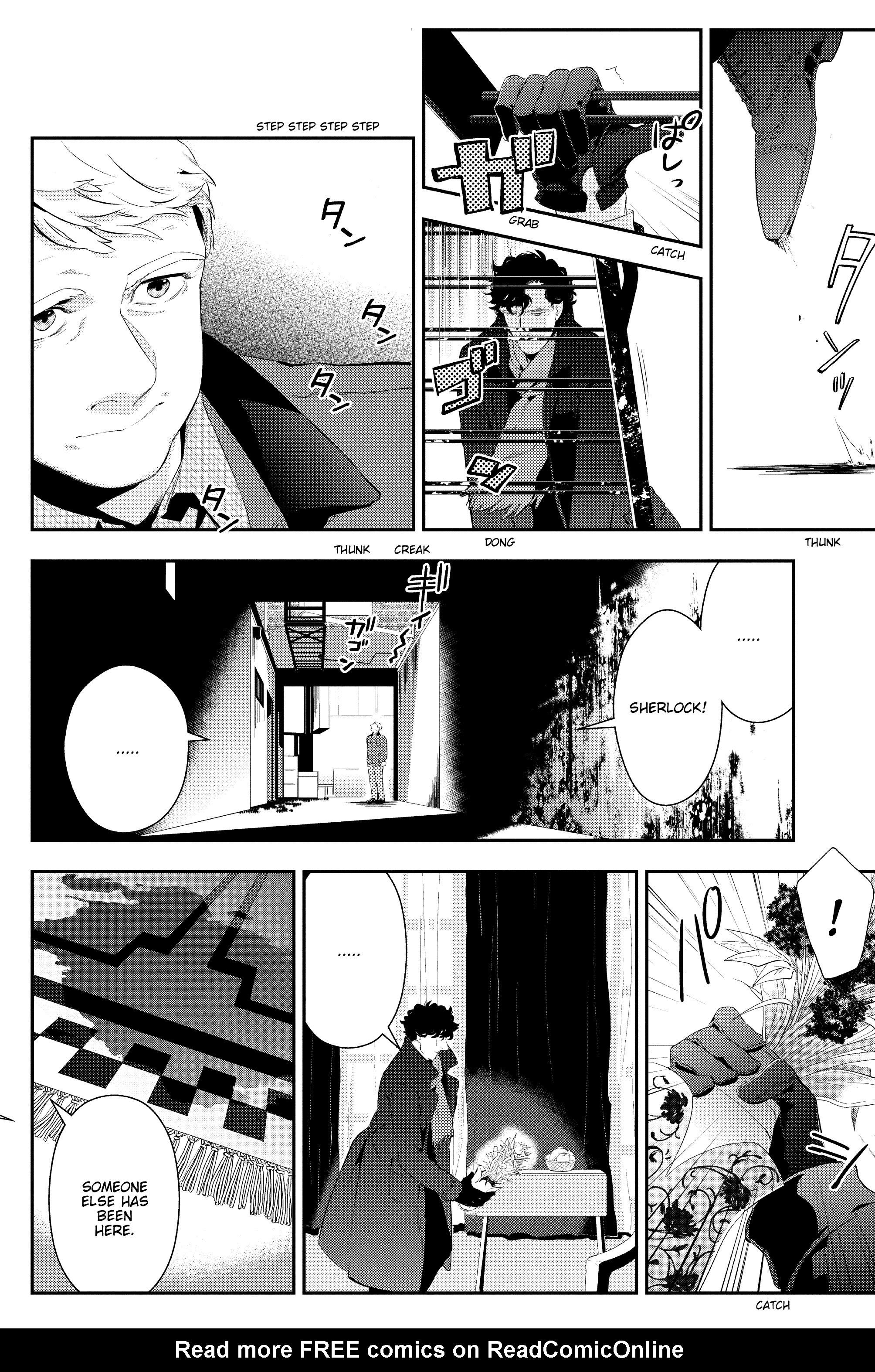 Read online Sherlock: The Blind Banker comic -  Issue #3 - 28